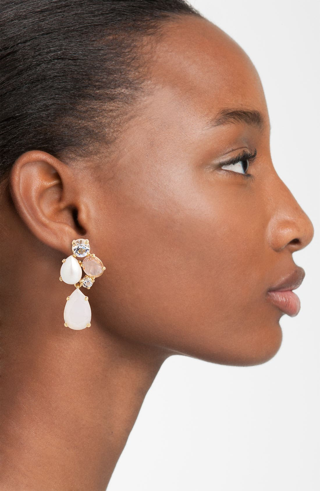 Alternate Image 2  - kate spade new york 'crystal chapel' drop earrings