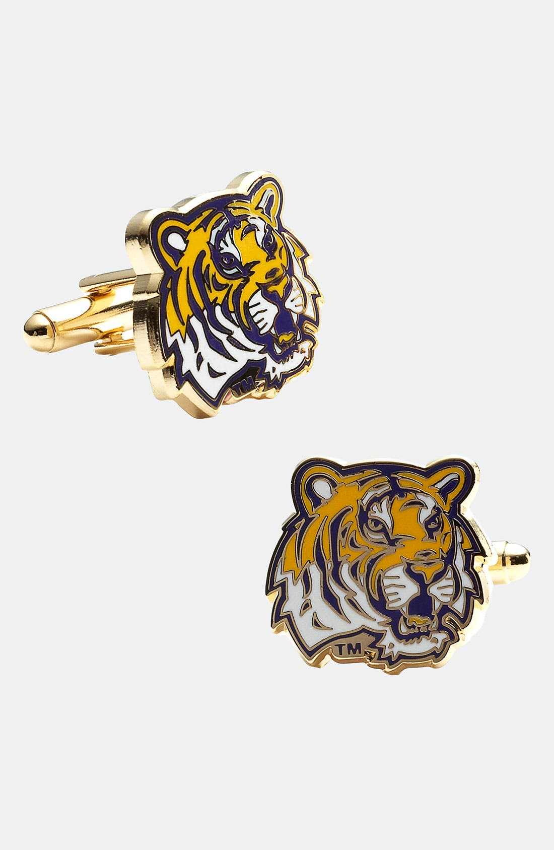 Main Image - Cufflinks, Inc. 'LSU Tigers' Cuff Links