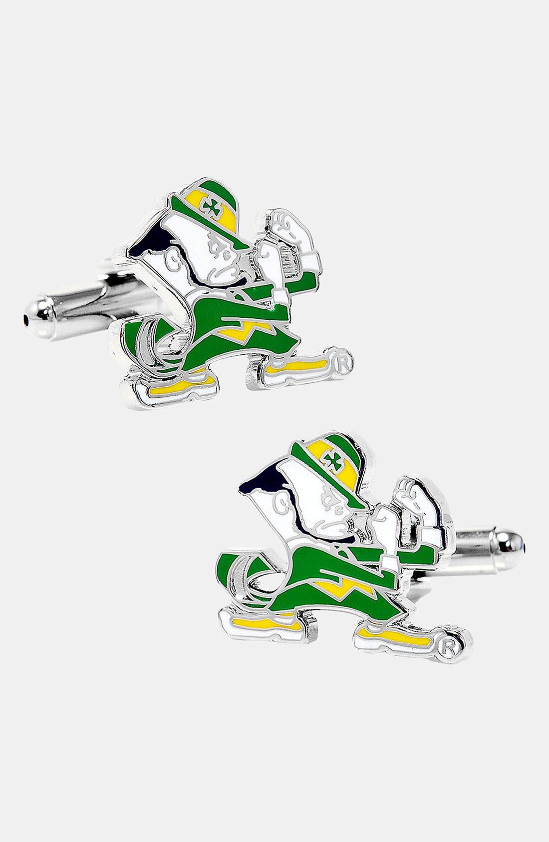 Alternate Image 1 Selected - Cufflinks, Inc. 'Notre Dame Fighting Irish' Cuff Links
