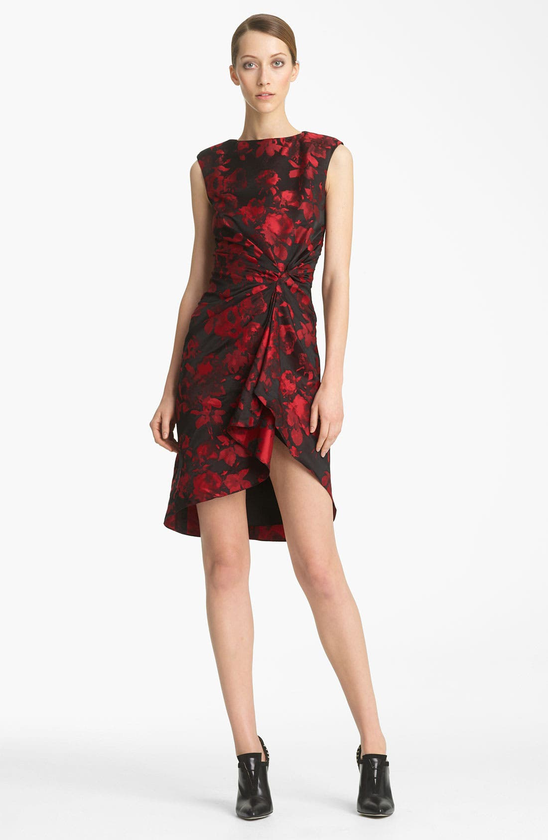 Alternate Image 1 Selected - Jason Wu Print Jacquard Dress