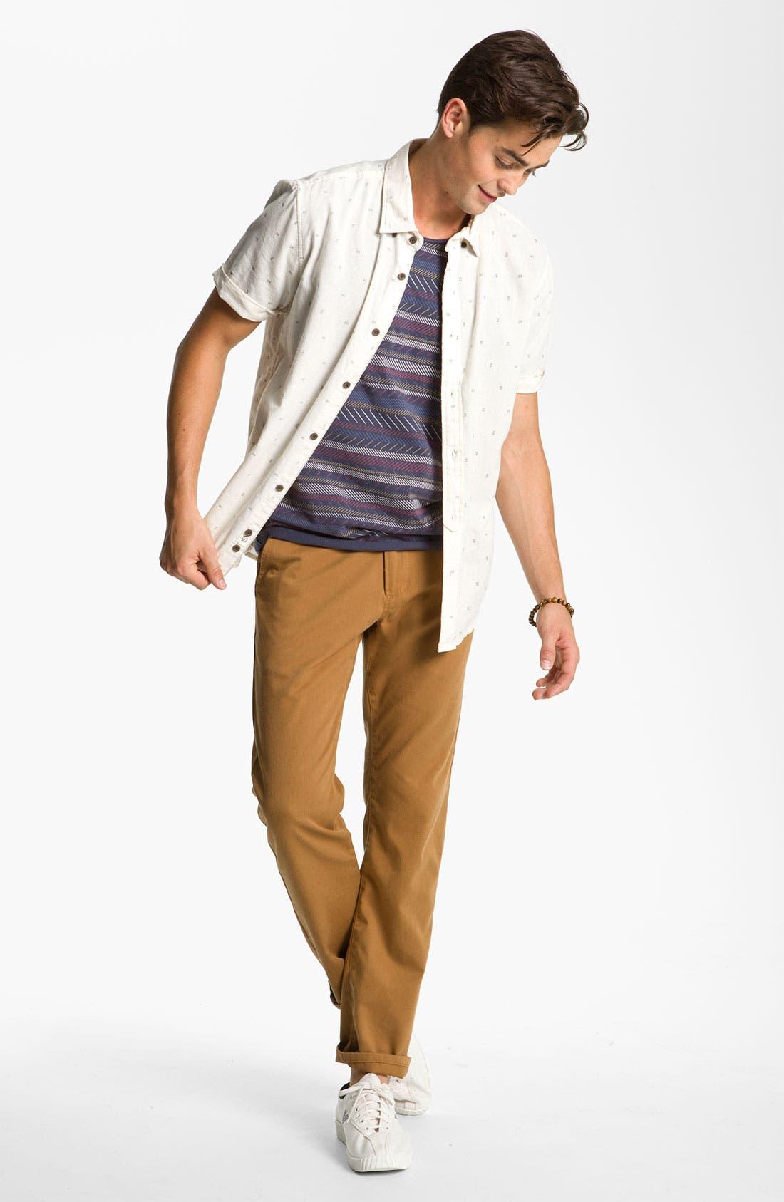 Alternate Image 4  - Zanerobe Stripe T-Shirt