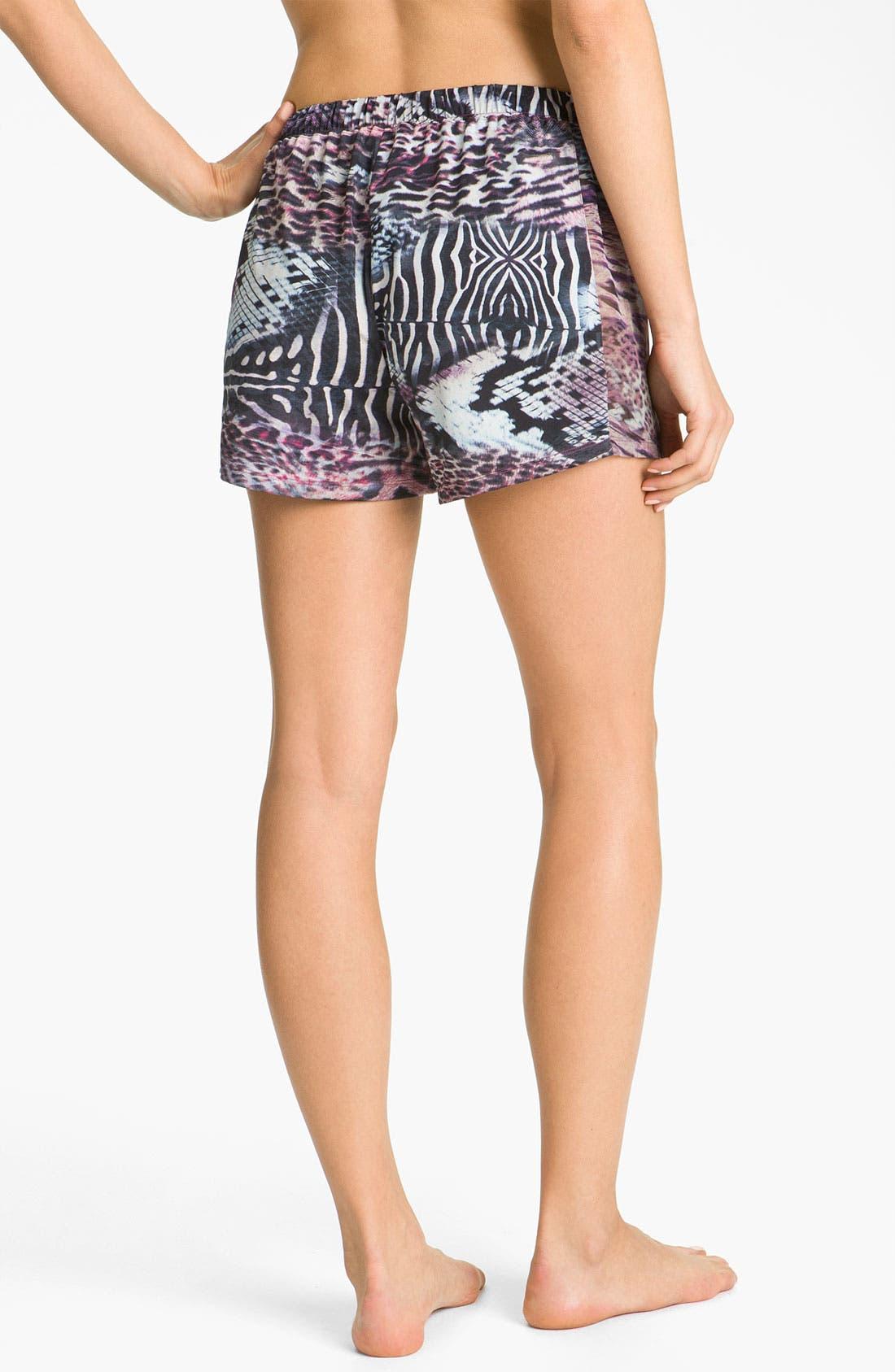 Alternate Image 2  - Nicole Miller 'Wild Animal' Shorts