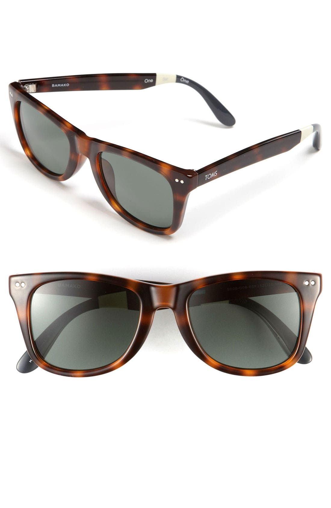 Alternate Image 1 Selected - TOMS 'Windward' 52mm Polarized Sunglasses