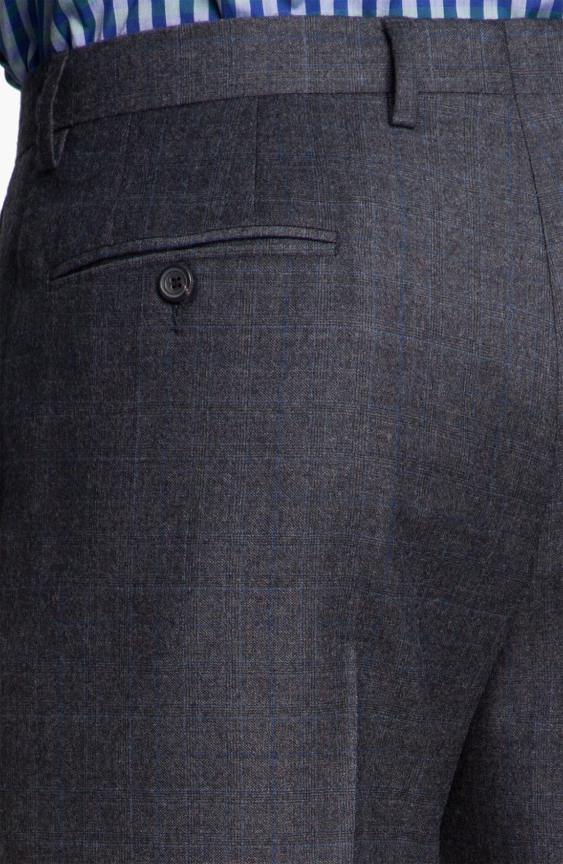 Alternate Image 7  - Paul Smith London Grid Print Wool Suit