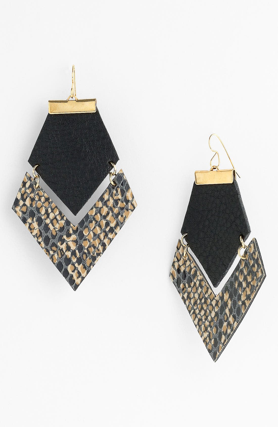 Main Image - Daly Bird Colorblock Earrings