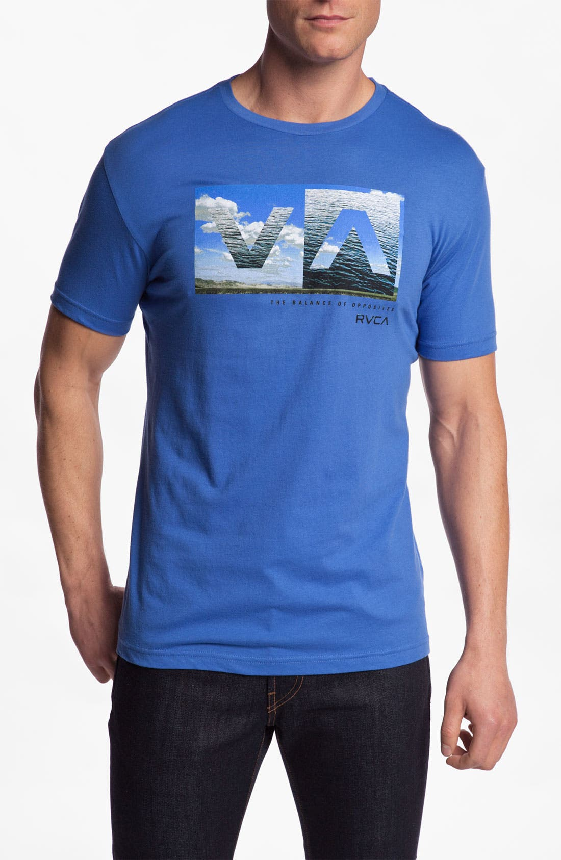 Alternate Image 1 Selected - RVCA 'A to B' Graphic T-Shirt