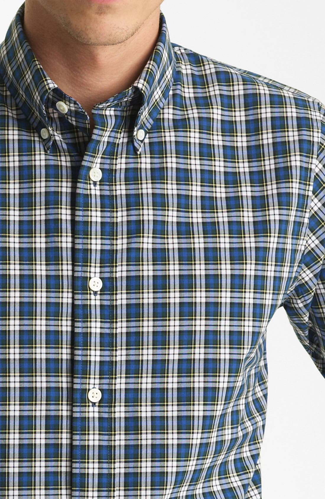 Alternate Image 3  - Jack Spade 'Gibson' Plaid Woven Shirt