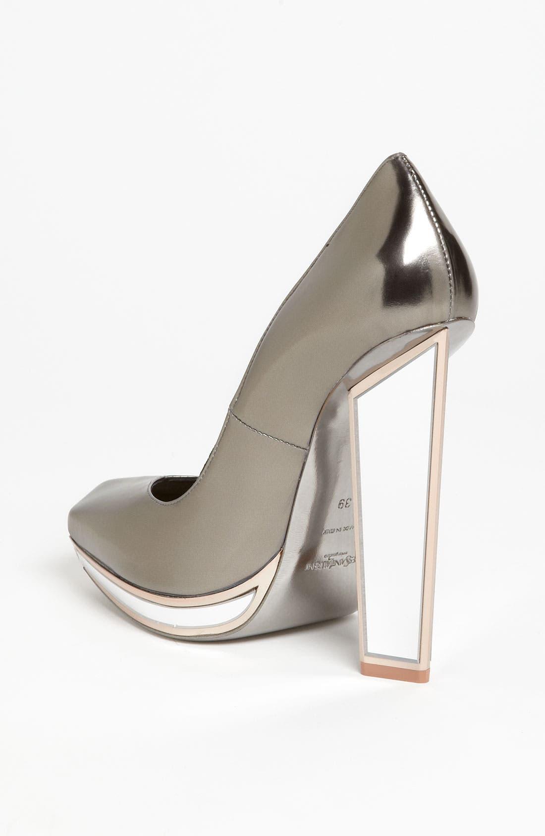 Alternate Image 2  - Yves Saint Laurent Mirror Heel Pump