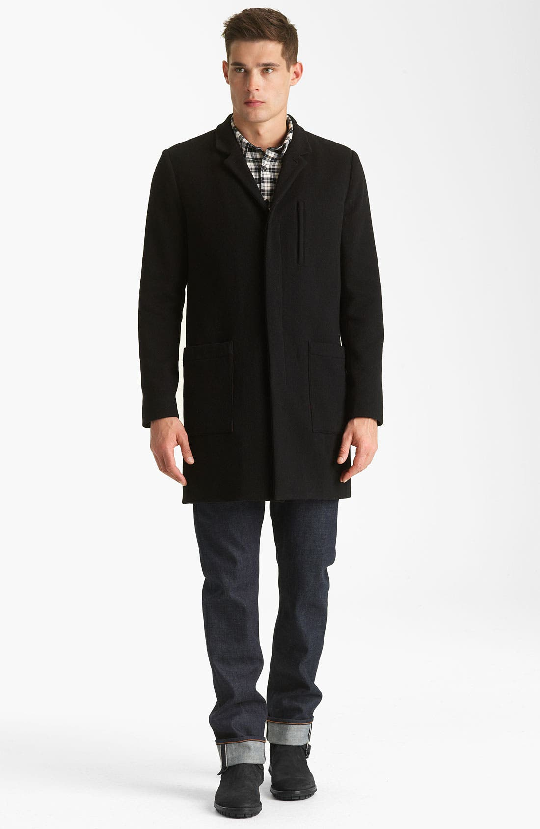 Alternate Image 4  - Rogan Wool Blend Coat
