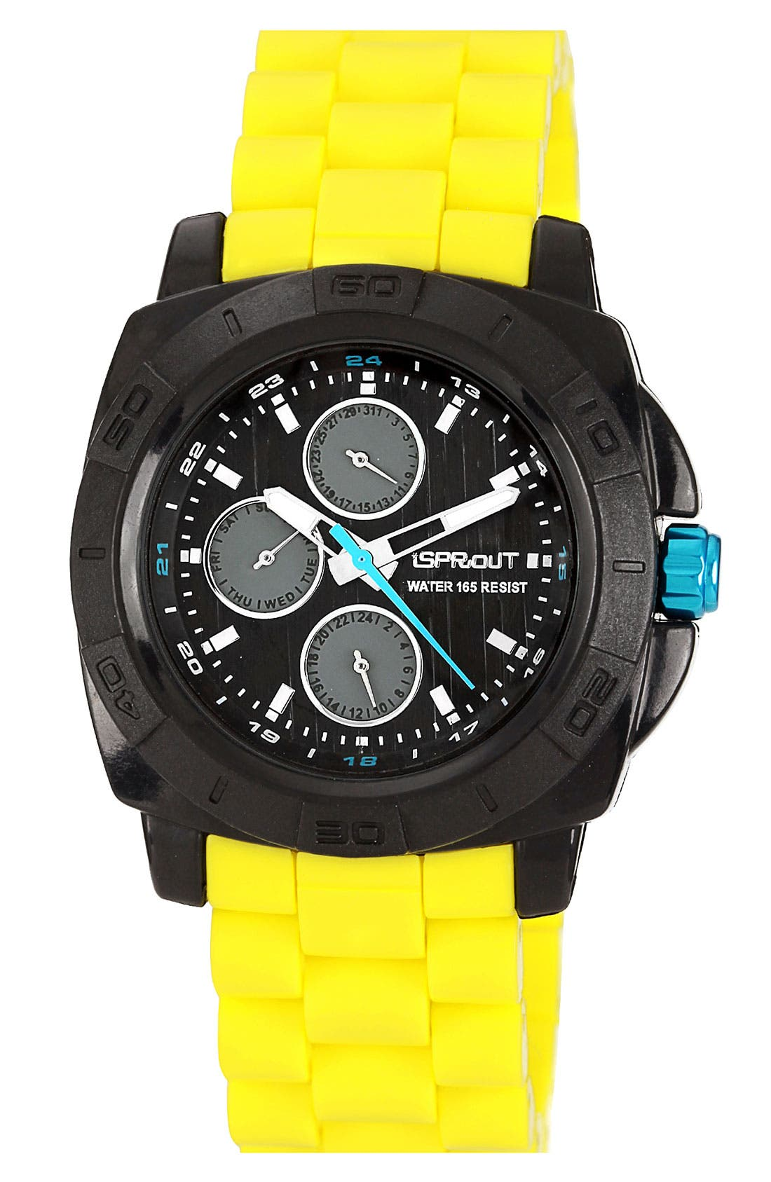 Main Image - SPROUT™ Watches Round Resin Bracelet Watch, 41mm