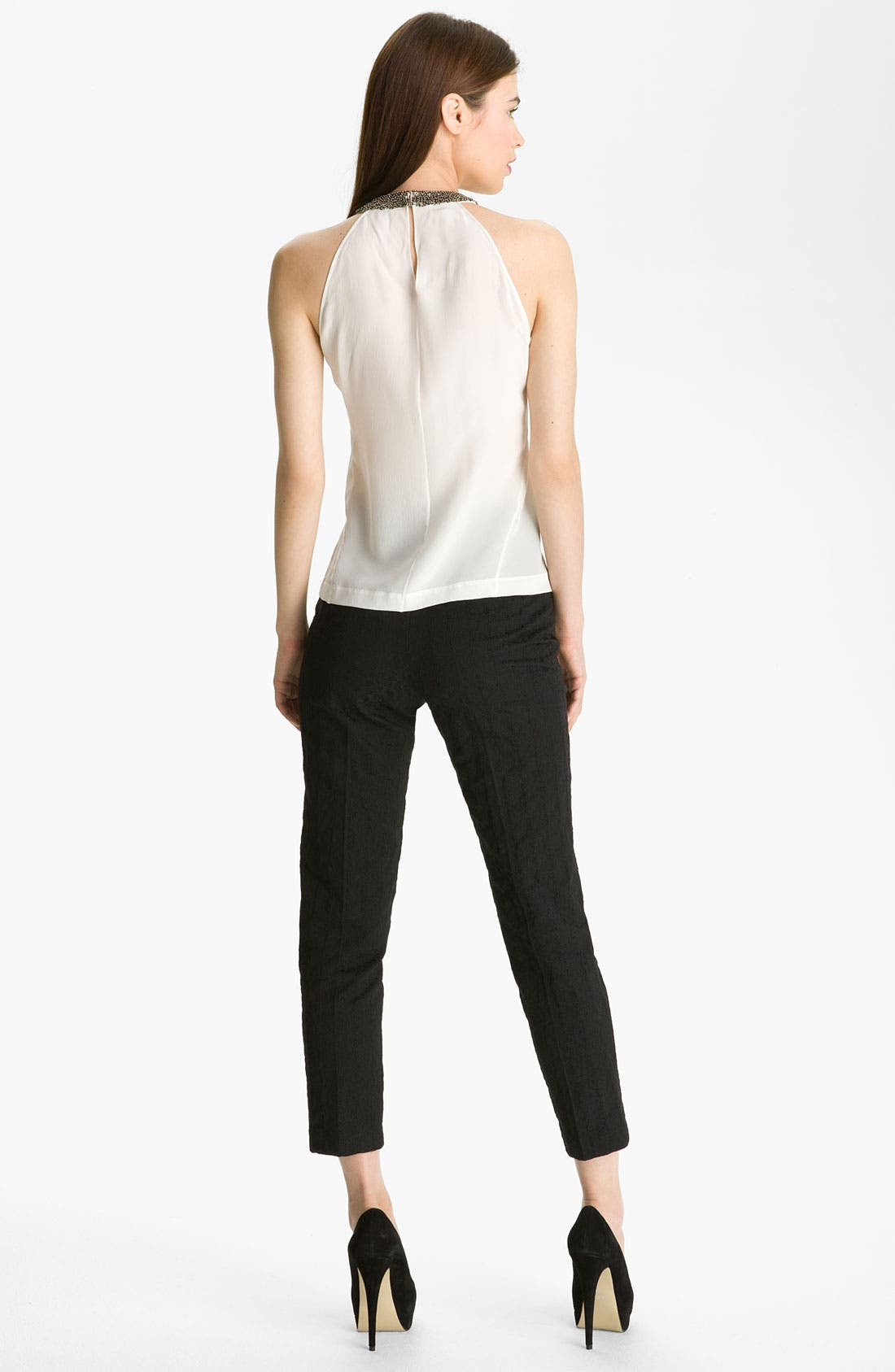 Alternate Image 5  - Robert Rodriguez Crop Jacquard Pants