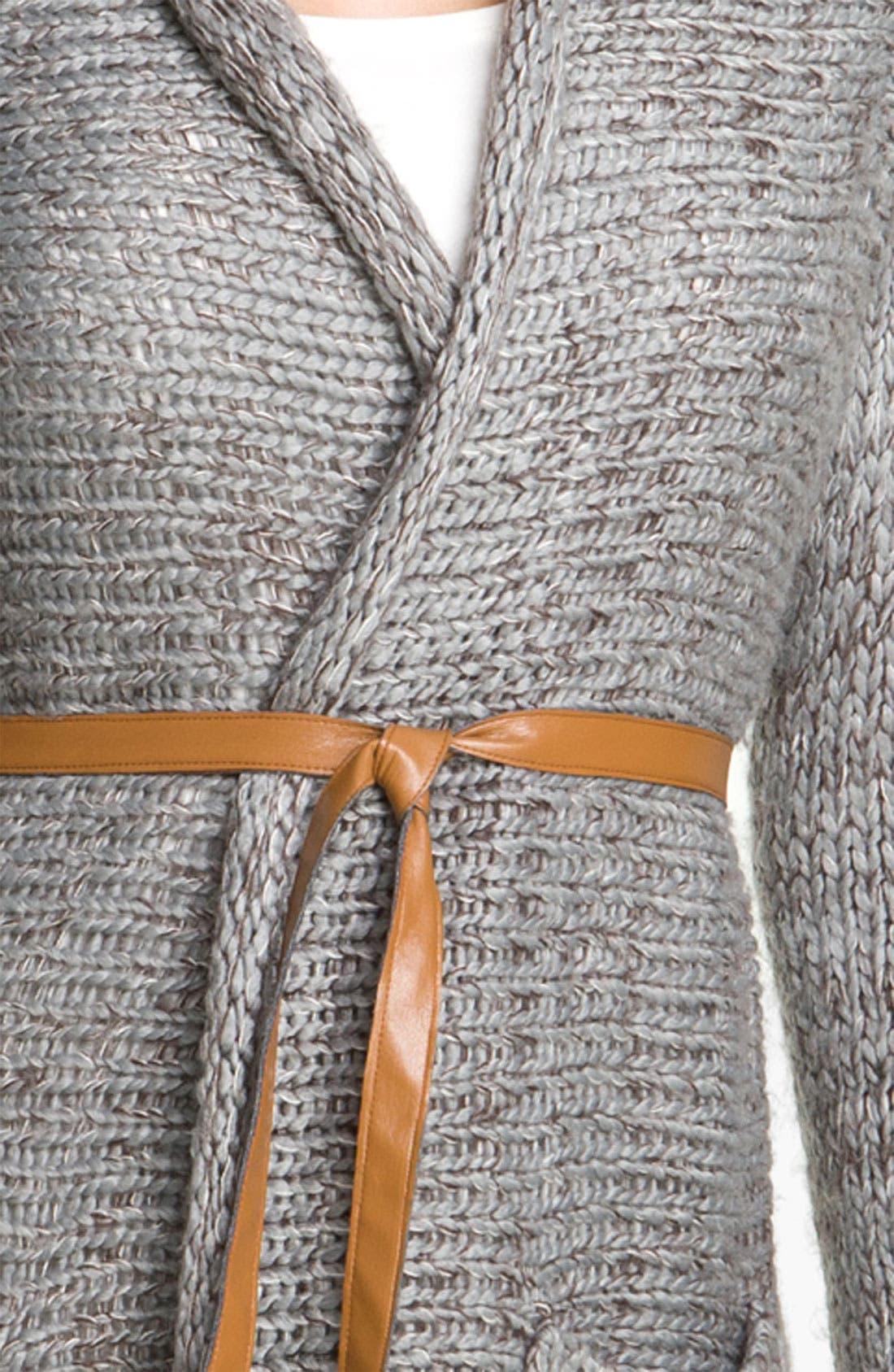 Alternate Image 3  - Payton Belted Long Cardigan