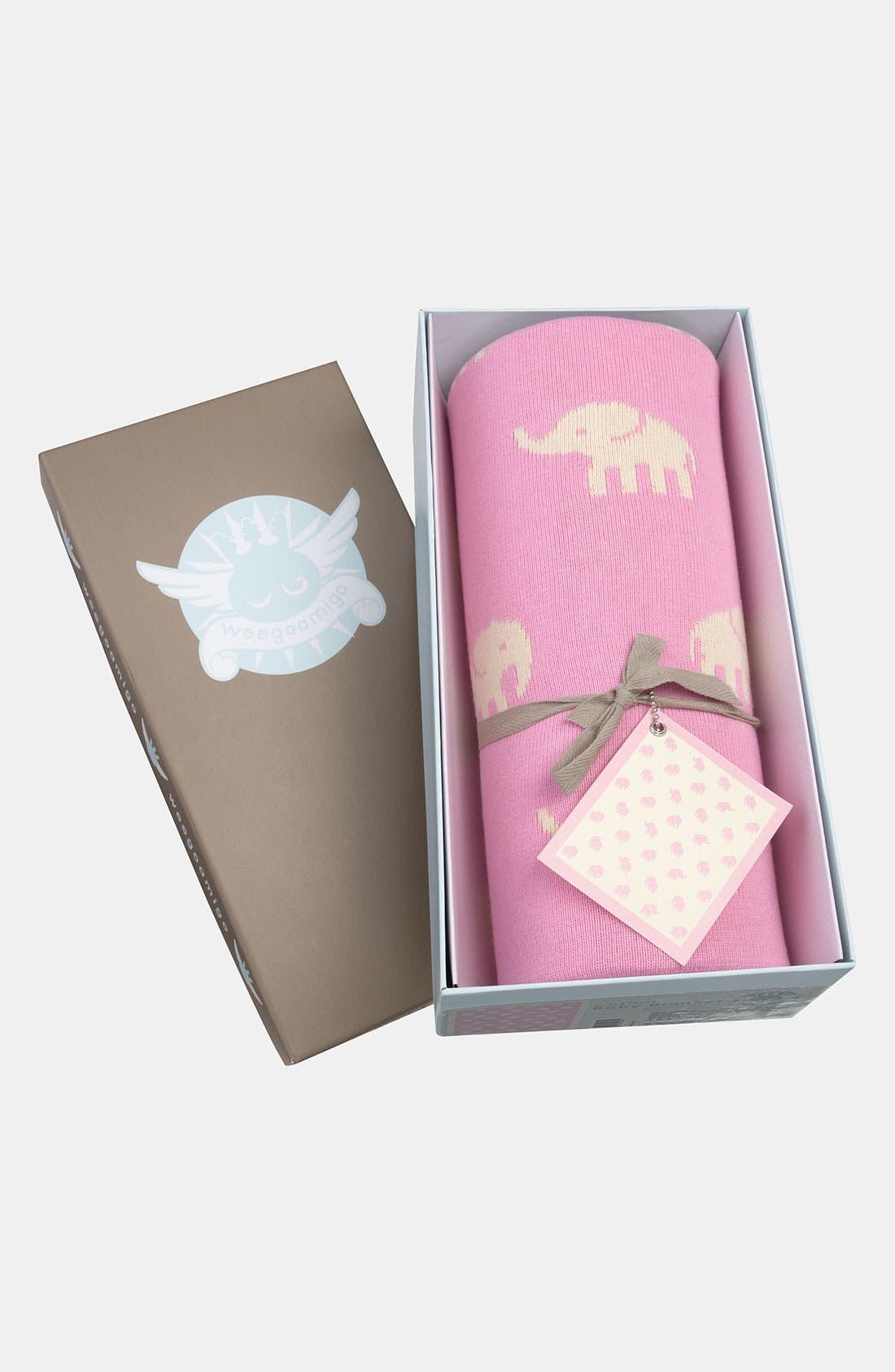 Alternate Image 1 Selected - weegoamigo 'Pink Stampede' Blanket