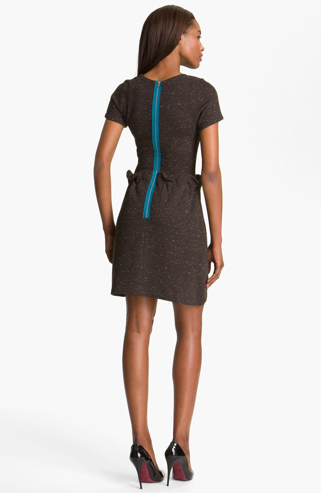 Alternate Image 2  - Carven 'Flanette' Knit Dress