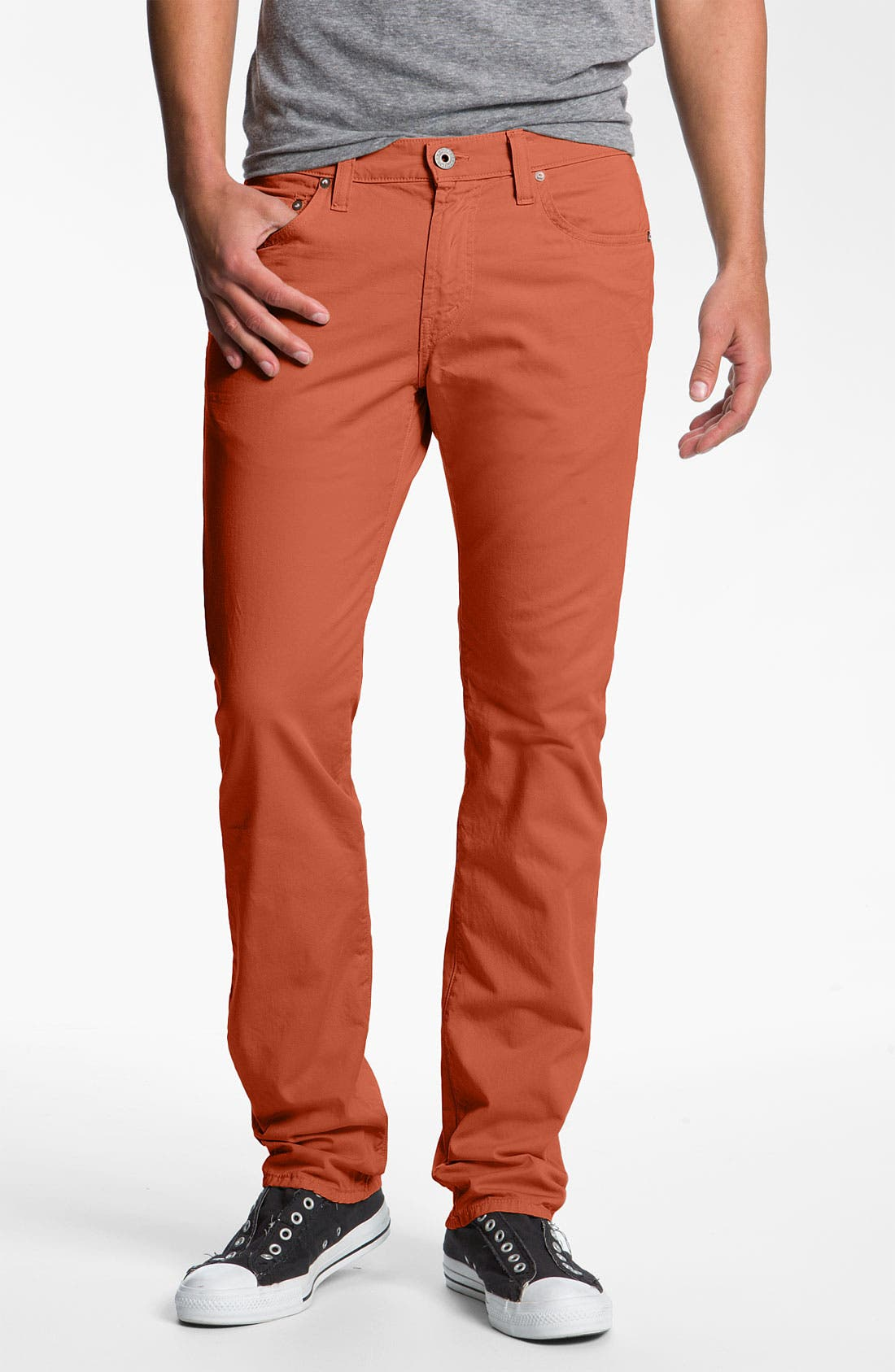 Alternate Image 1 Selected - J Brand 'Kane' Slim Straight Leg Twill Pants