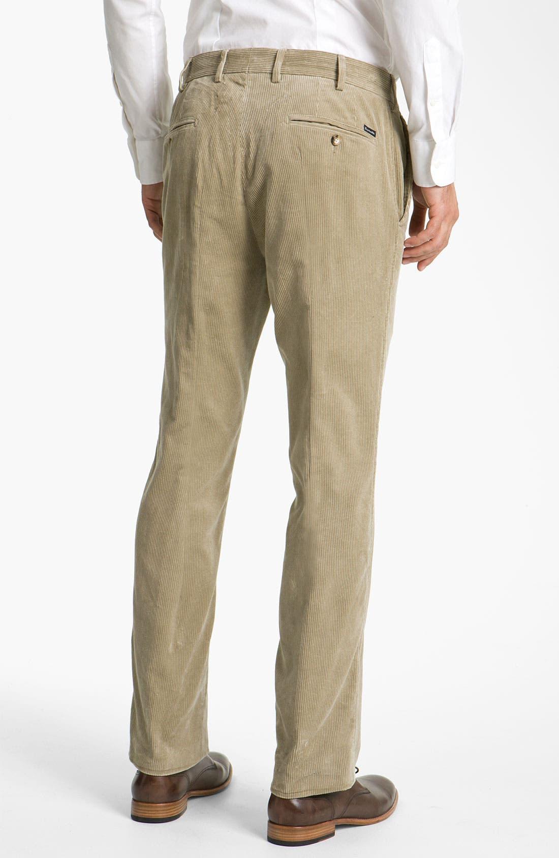 Alternate Image 2  - Façonnable Corduroy Pants
