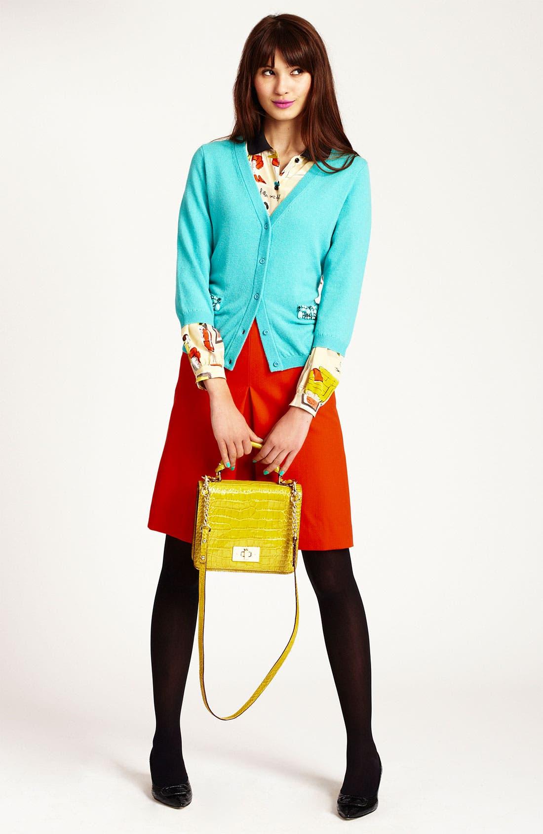 Alternate Image 4  - kate spade new york 'mollie' skirt