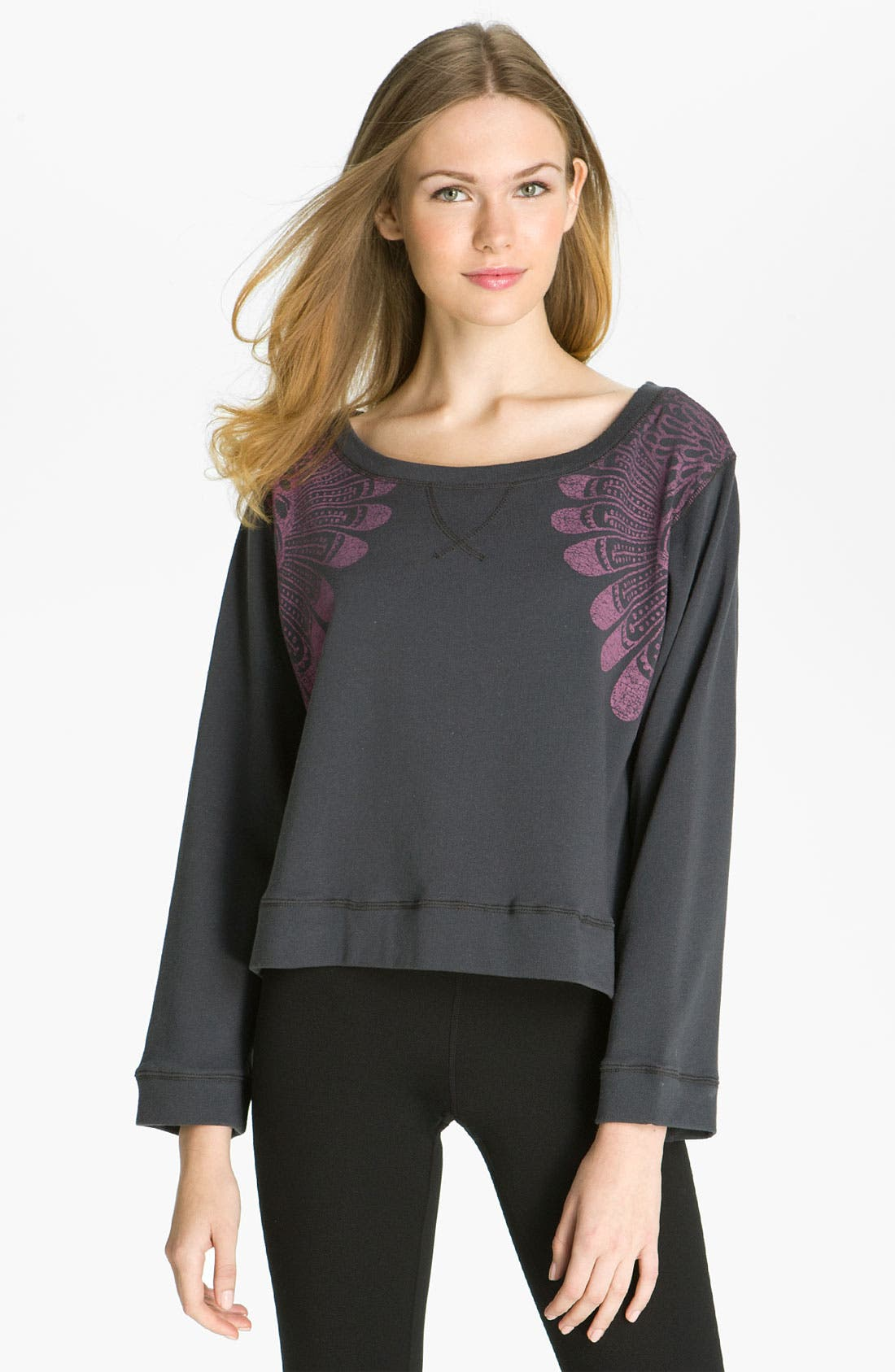 Alternate Image 1 Selected - Steve Madden 'Dream Catcher' Sweatshirt