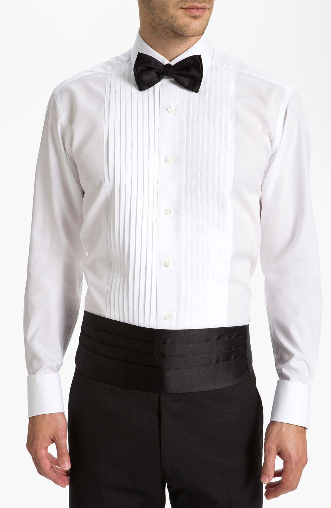 Alternate Image 1 Selected - BOSS Cummerbund & Bow Tie