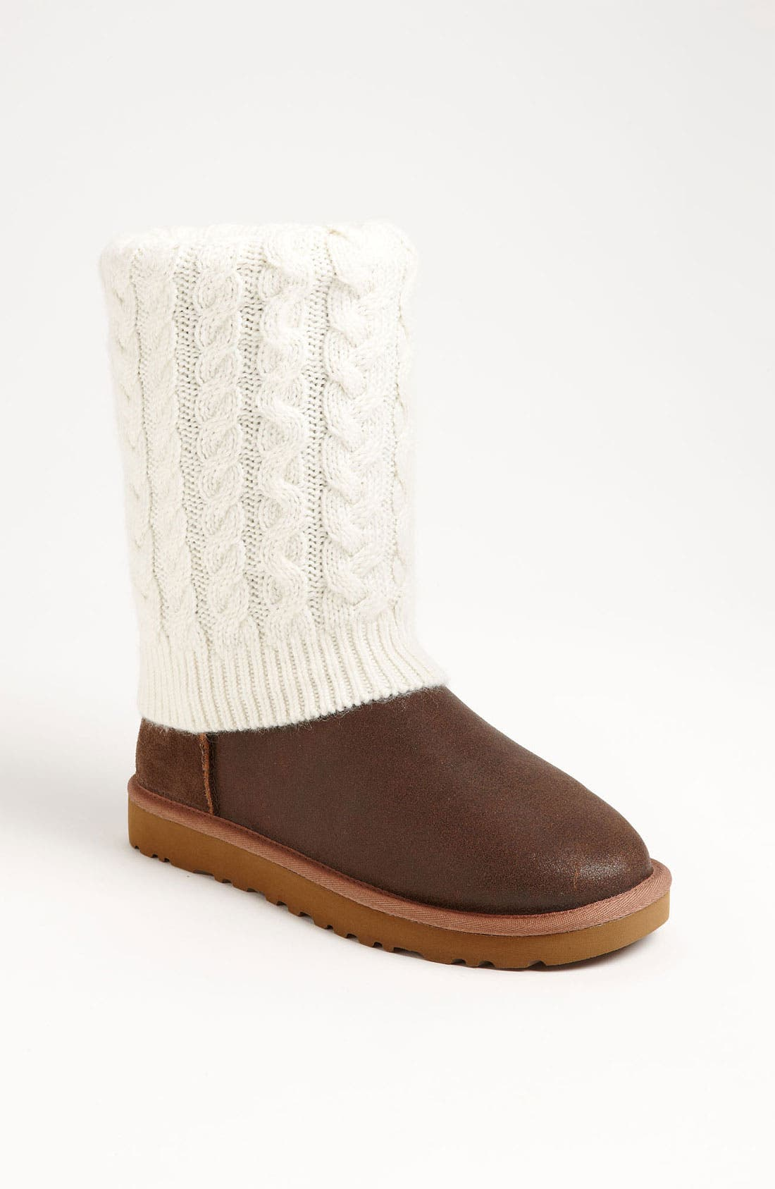 Main Image - UGG® Australia 'Tularosa Route Detachable' Boot with Removable Knit Overlay (Women)