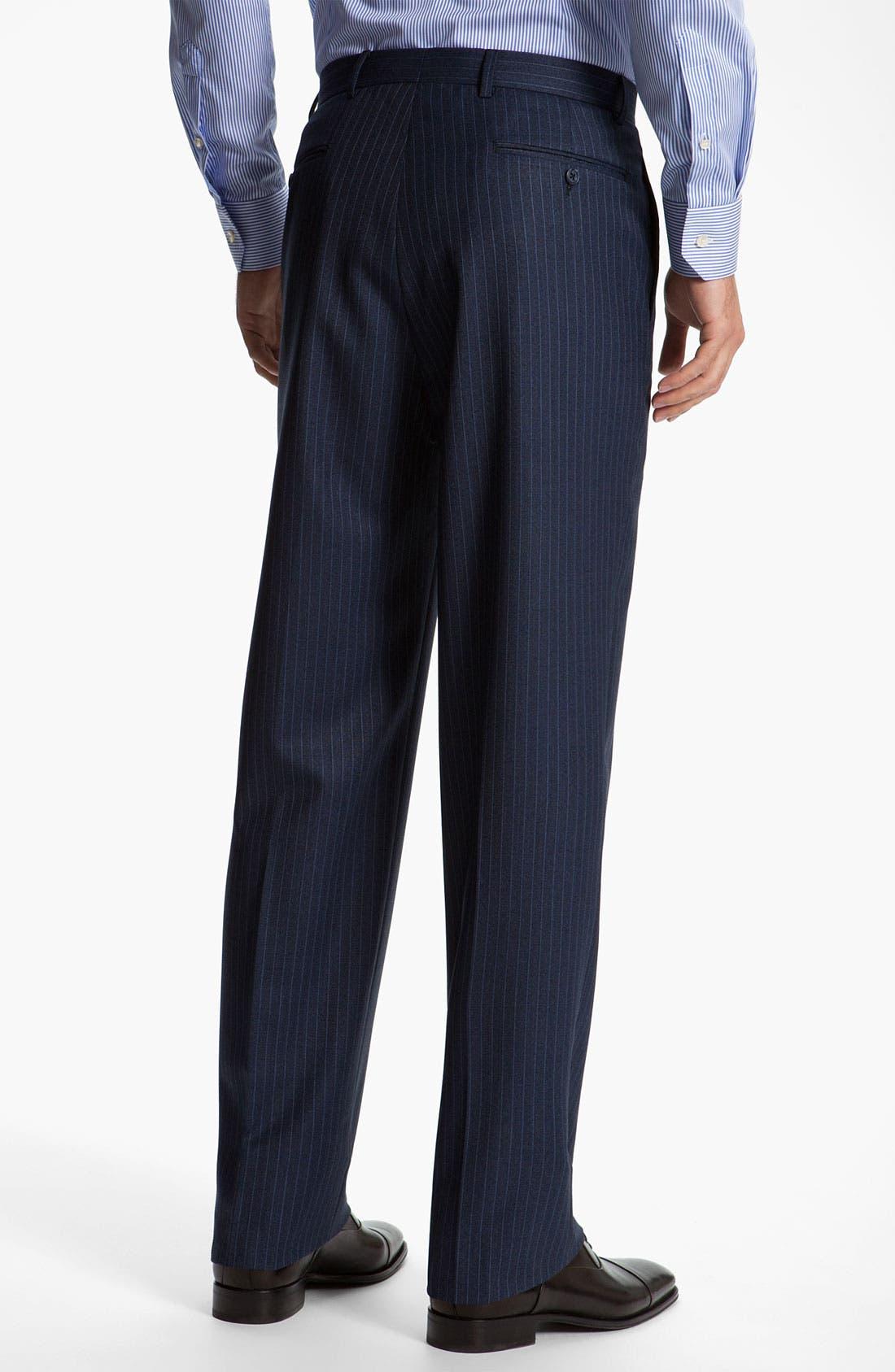 Alternate Image 5  - Joseph Abboud 'Signature Silver' Stripe Suit