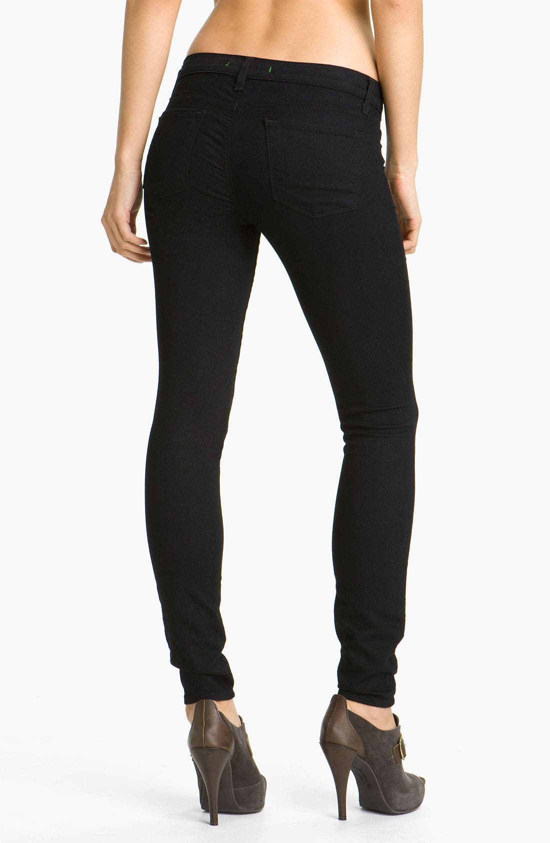 Alternate Image 2  - J Brand 'Legging' Stretch Jeans (Pitch Wash)