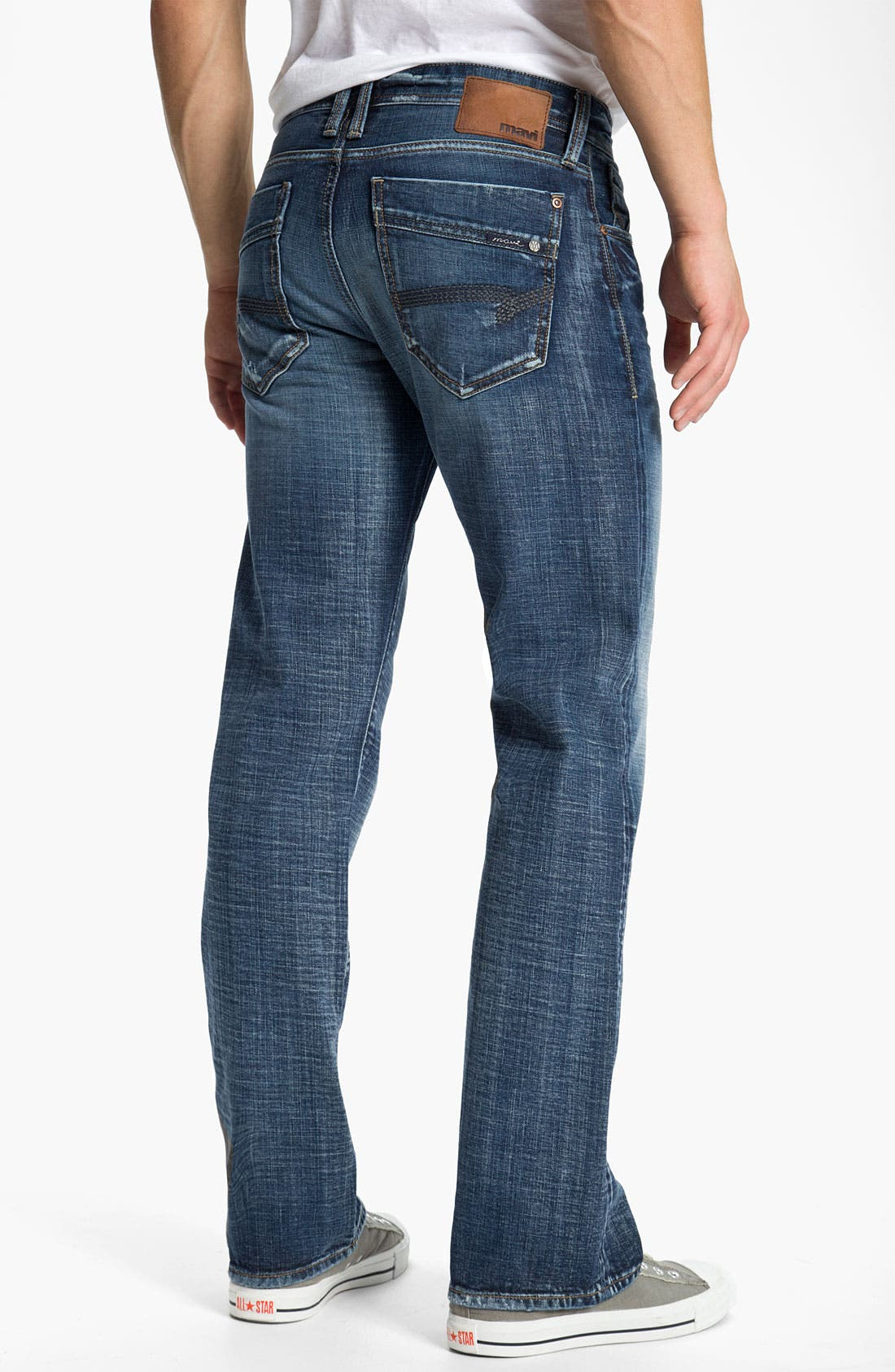 Alternate Image 1 Selected - Mavi Jeans 'Josh' Bootcut Jeans (Dark American Cashmere)