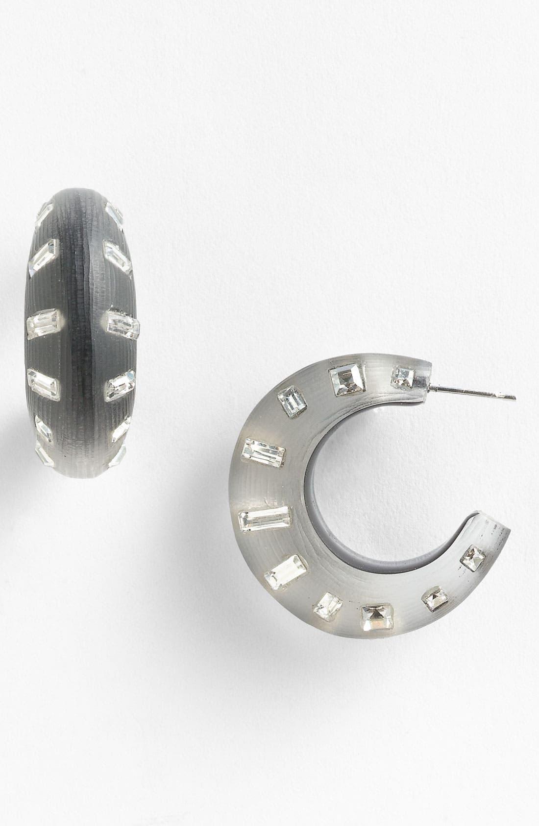 Alternate Image 1 Selected - Alexis Bittar 'Teatro Moderne' Hoop Earrings
