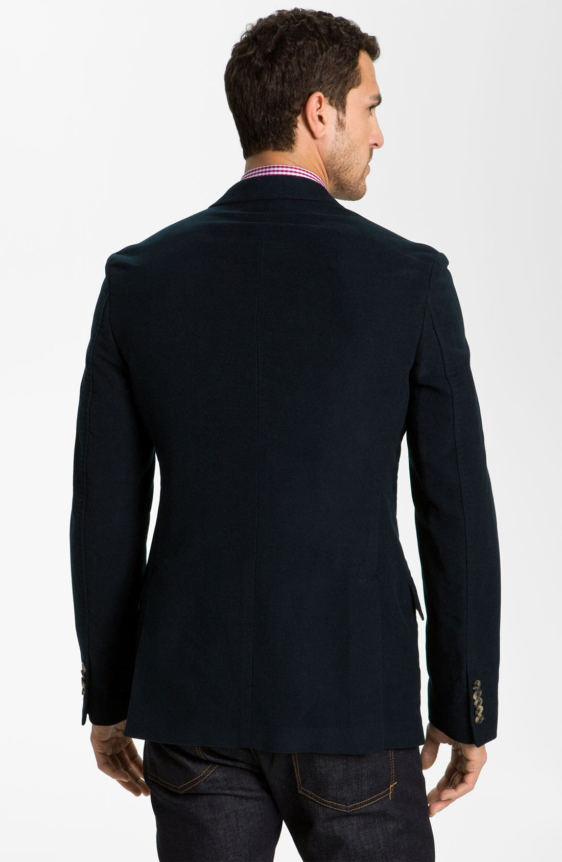 Alternate Image 2  - Paul Smith London Cotton Blazer