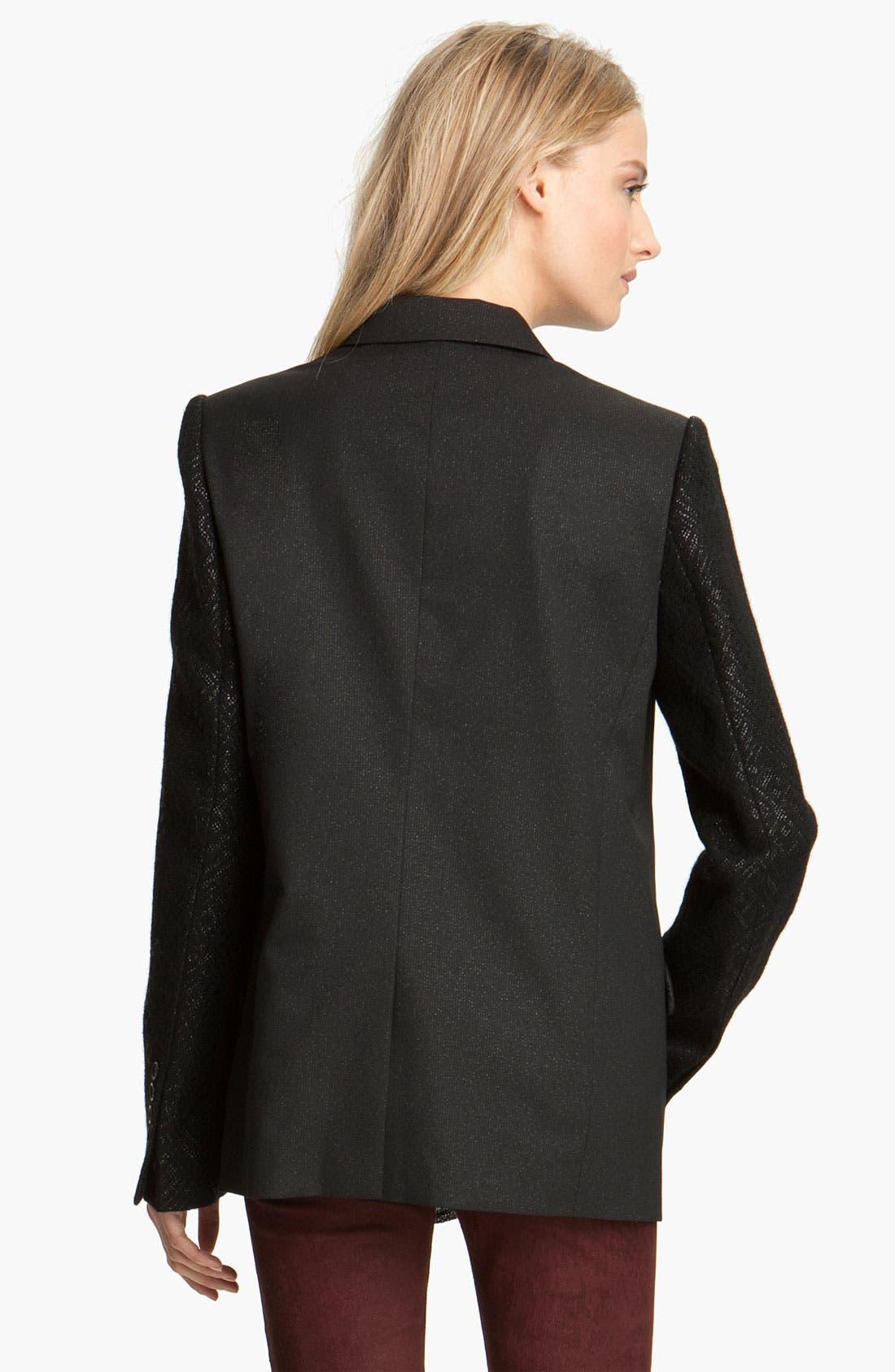 Alternate Image 2  - Zadig & Voltaire 'Vanda' Textured Sleeve Jacket