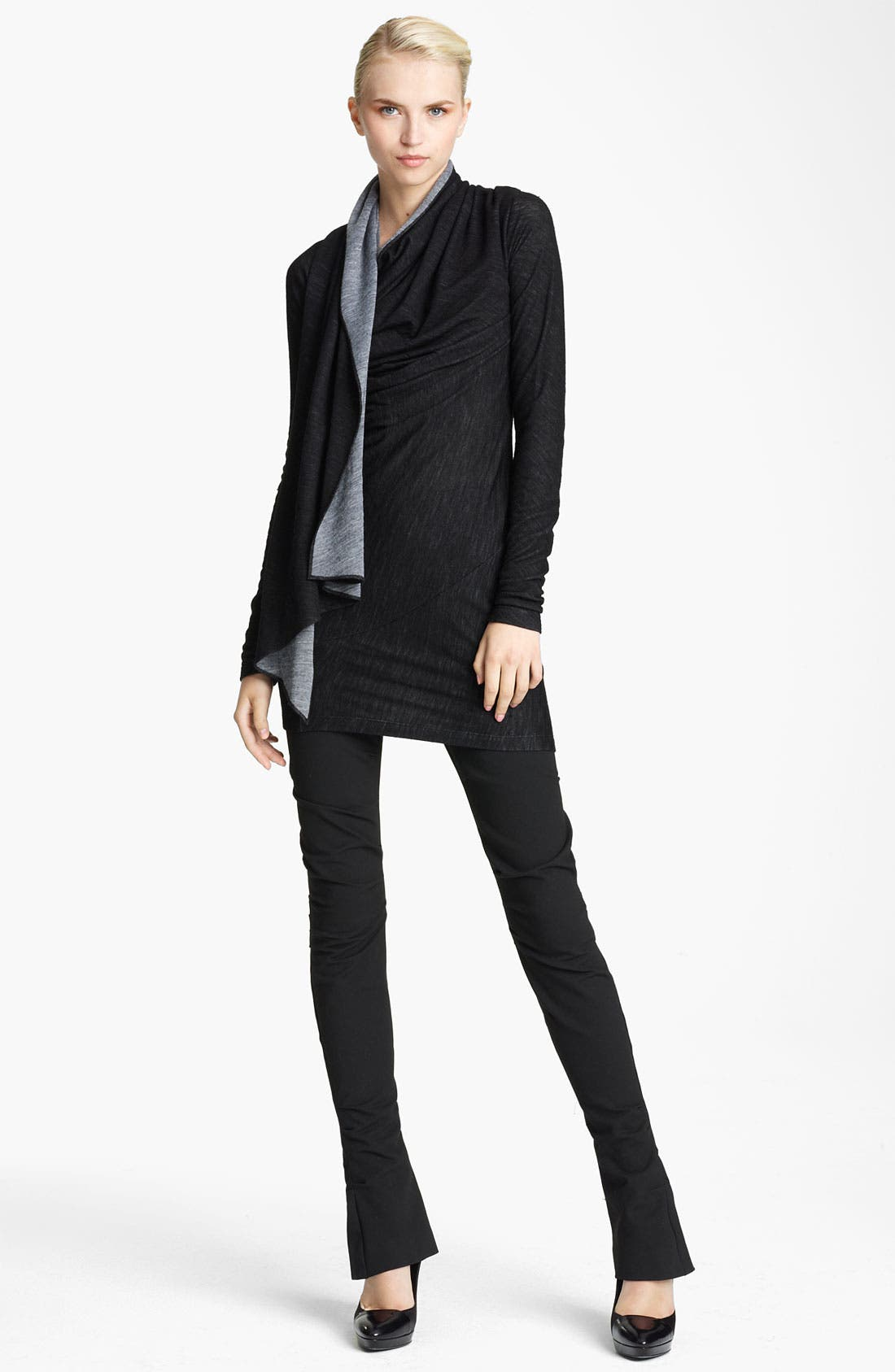 Alternate Image 1 Selected - Donna Karan Collection Scarf Neck Tunic Dress