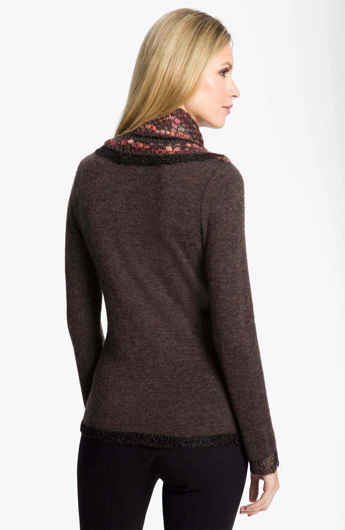 Alternate Image 2  - Diktons Barcelona Popcorn Stitch Sweater