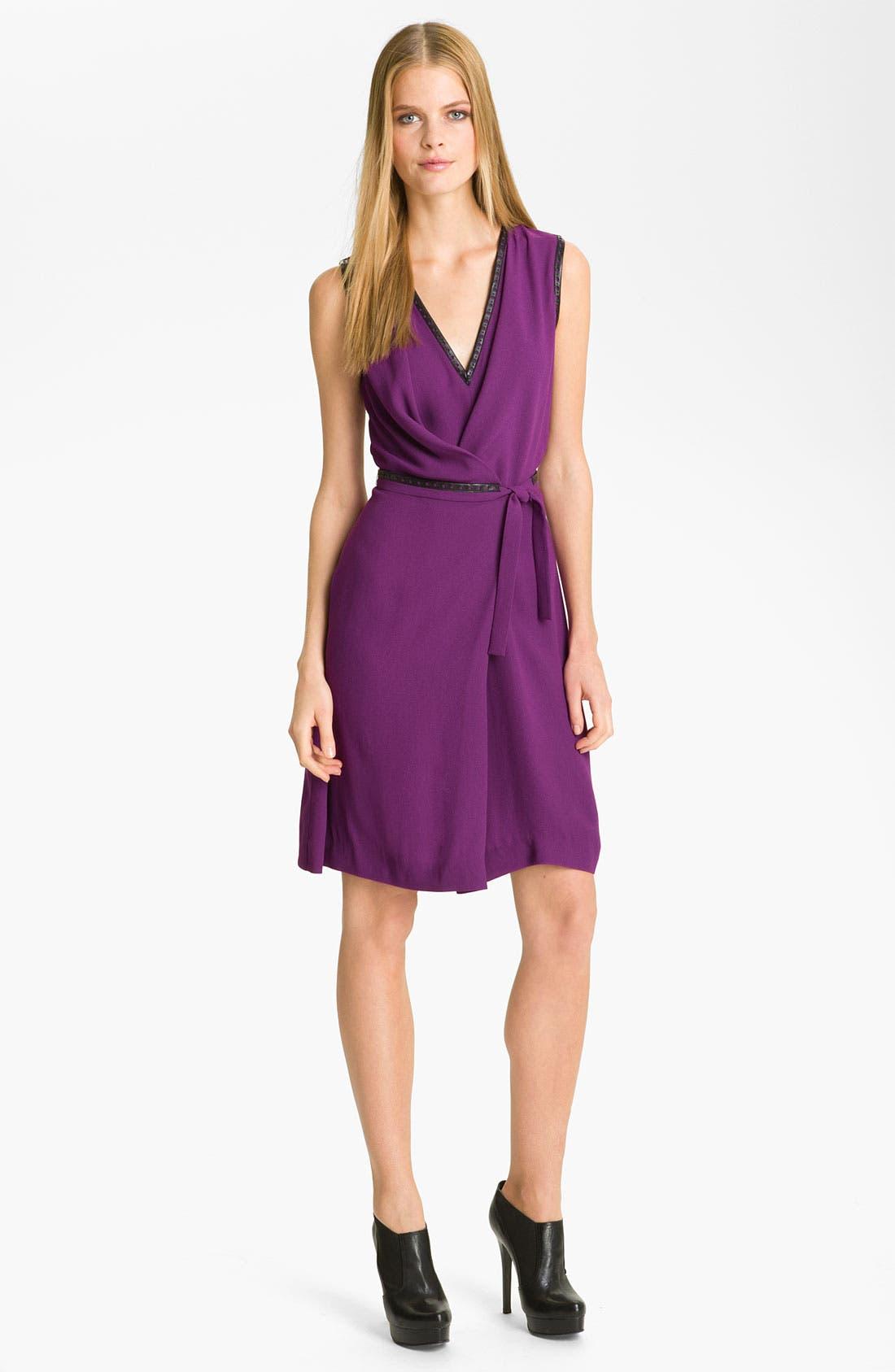 Alternate Image 4  - Rachel Roy Crepe Faux Wrap Dress (Online Exclusive)