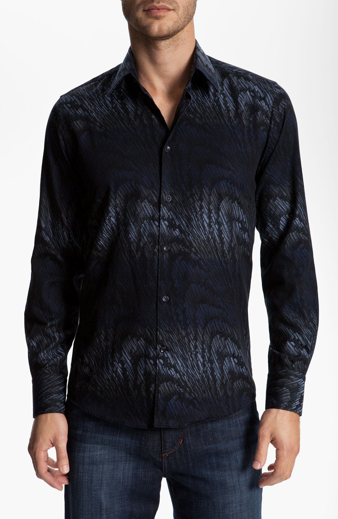 Alternate Image 1 Selected - Versace Woven Sport Shirt