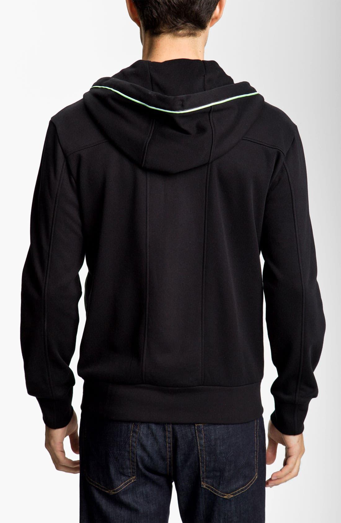 Alternate Image 2  - BOSS Green 'Saggy' Zip Hoodie