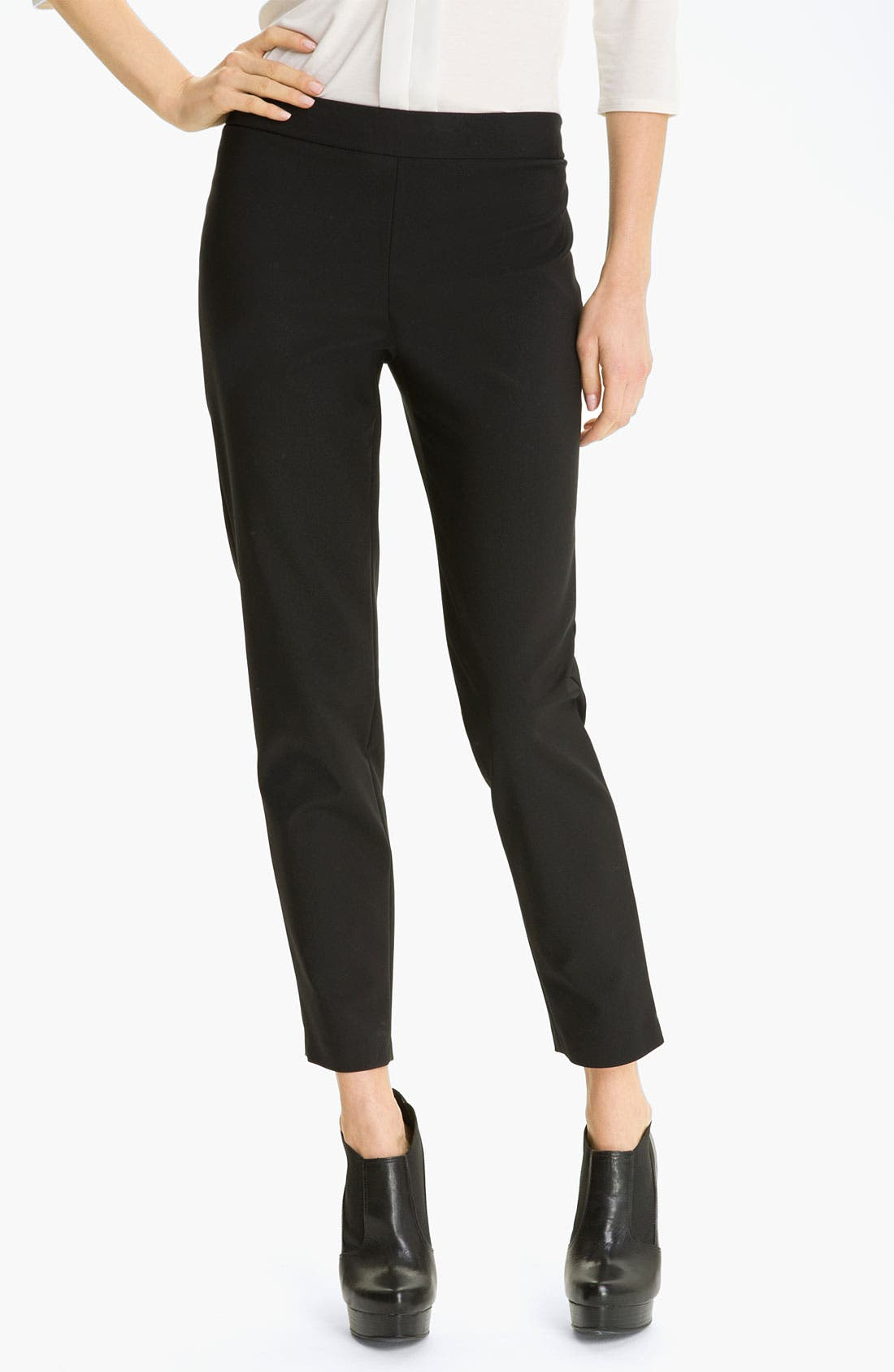 Main Image - Kenneth Cole New York 'Chloe' Cigarette Pants (Petite)