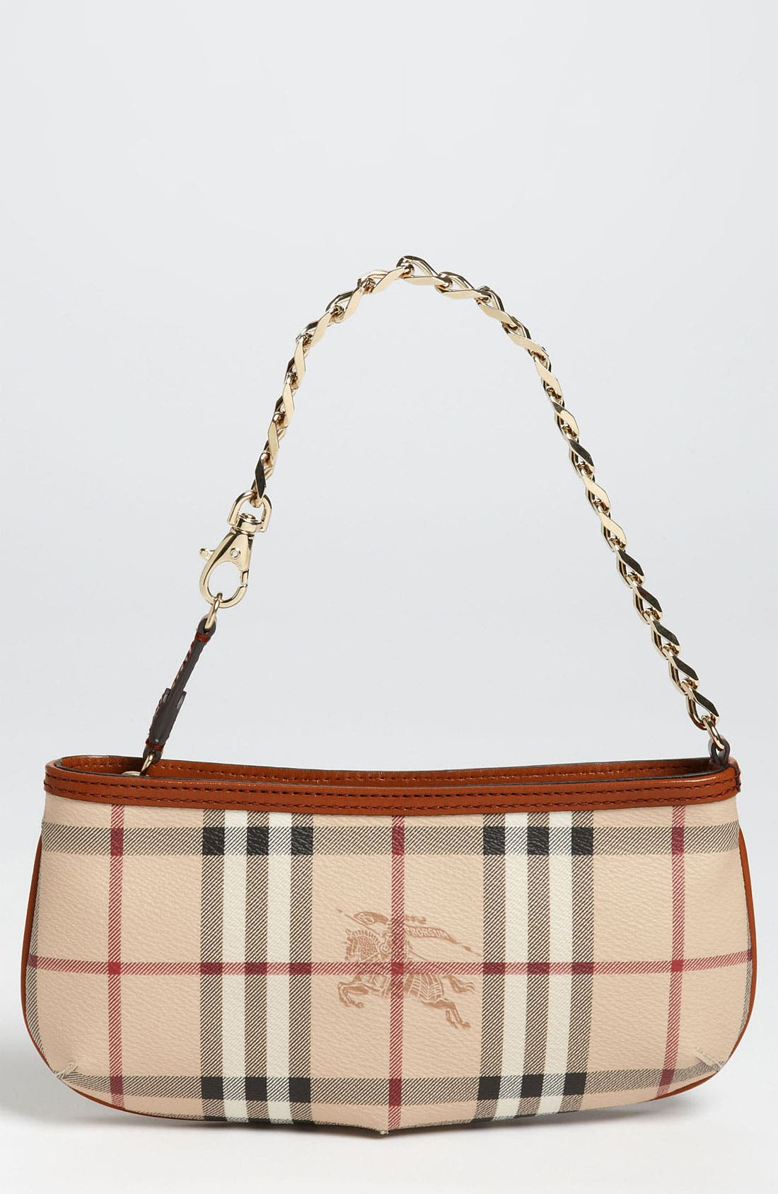Alternate Image 1 Selected - Burberry 'Haymarket Check' Convertible Wristlet