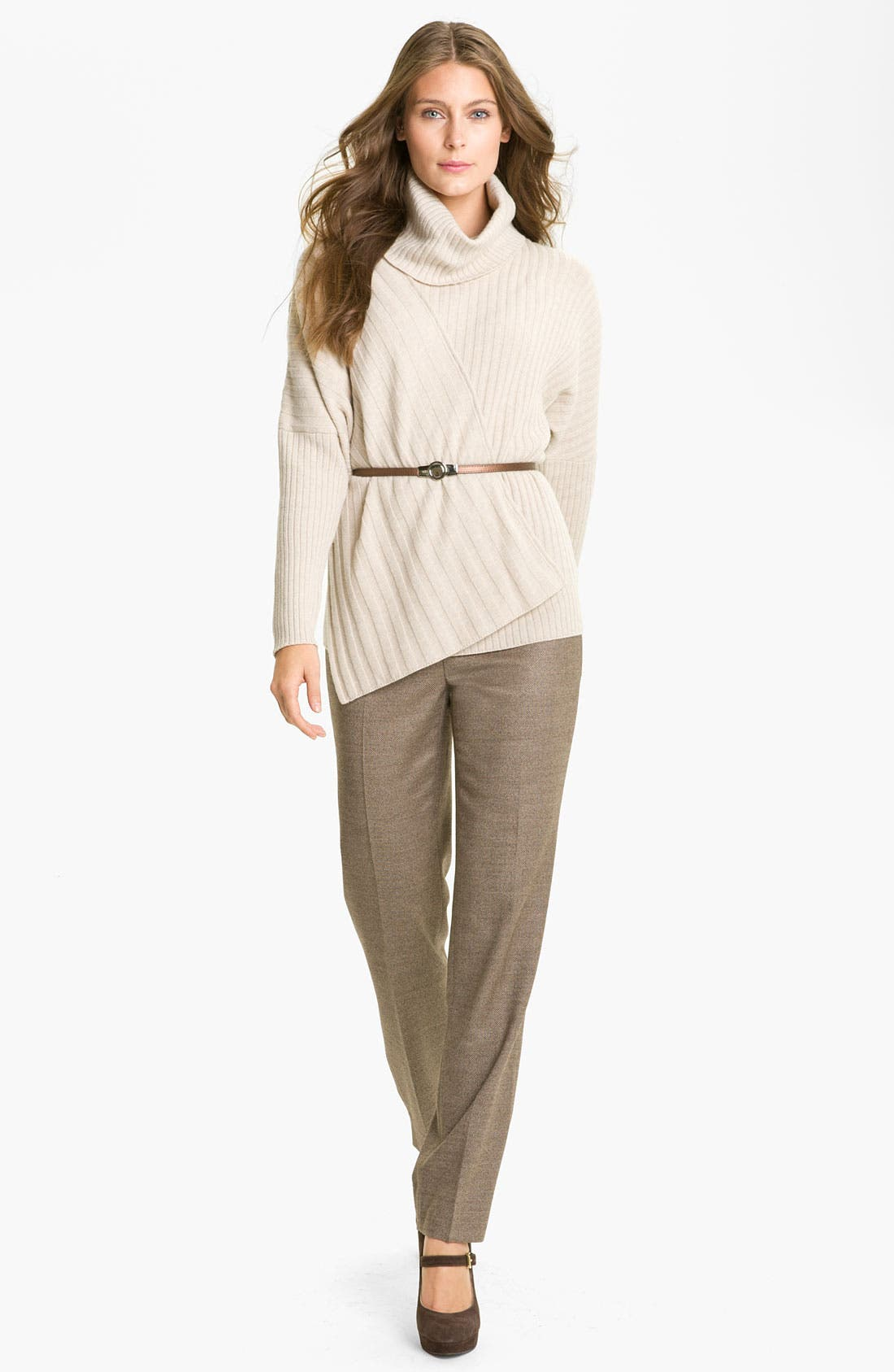 Alternate Image 5  - Lafayette 148 New York 'Bleecker - Poised' Suiting Pants