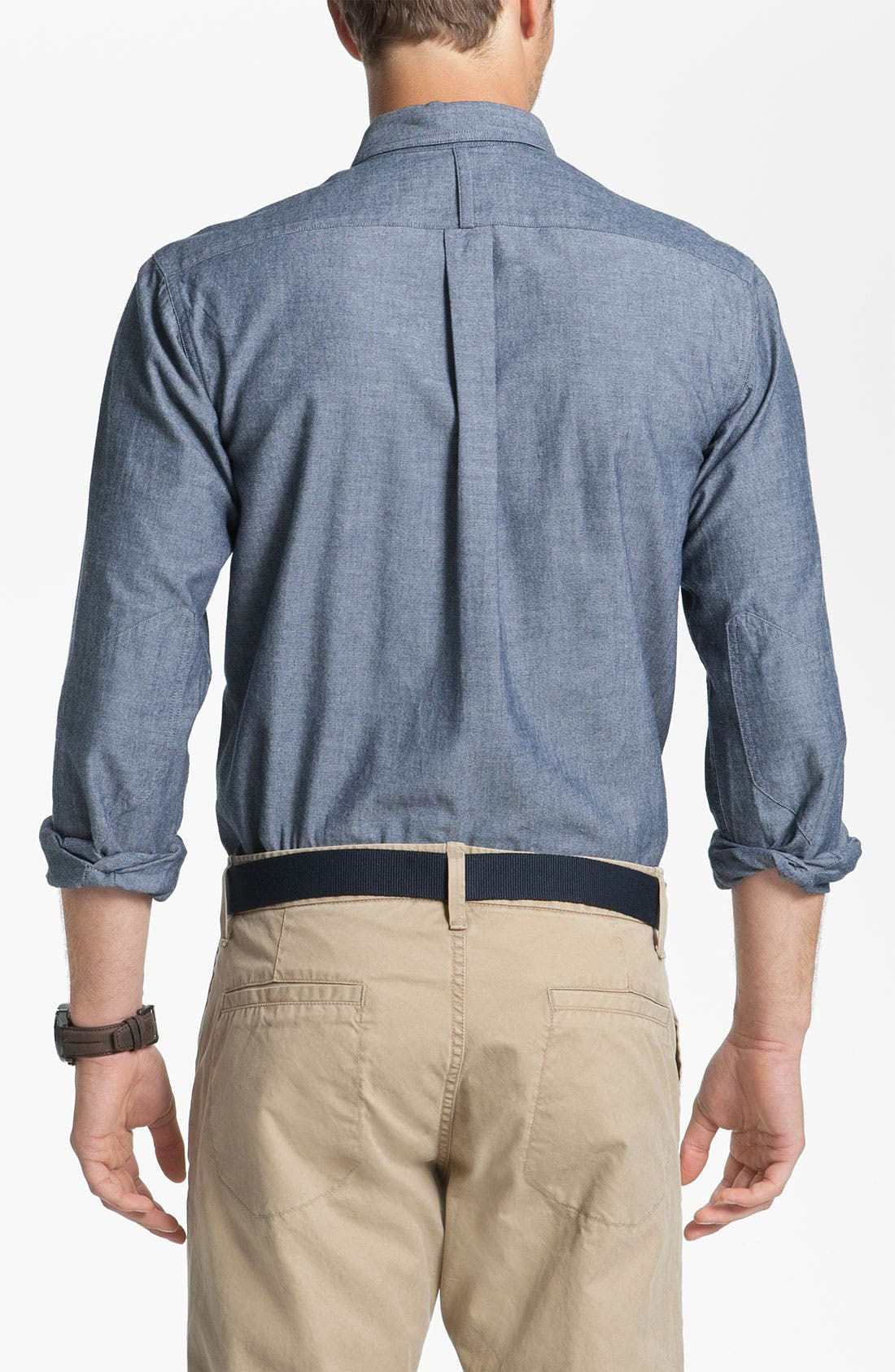 Alternate Image 2  - Fred Perry Chambray Sport Shirt