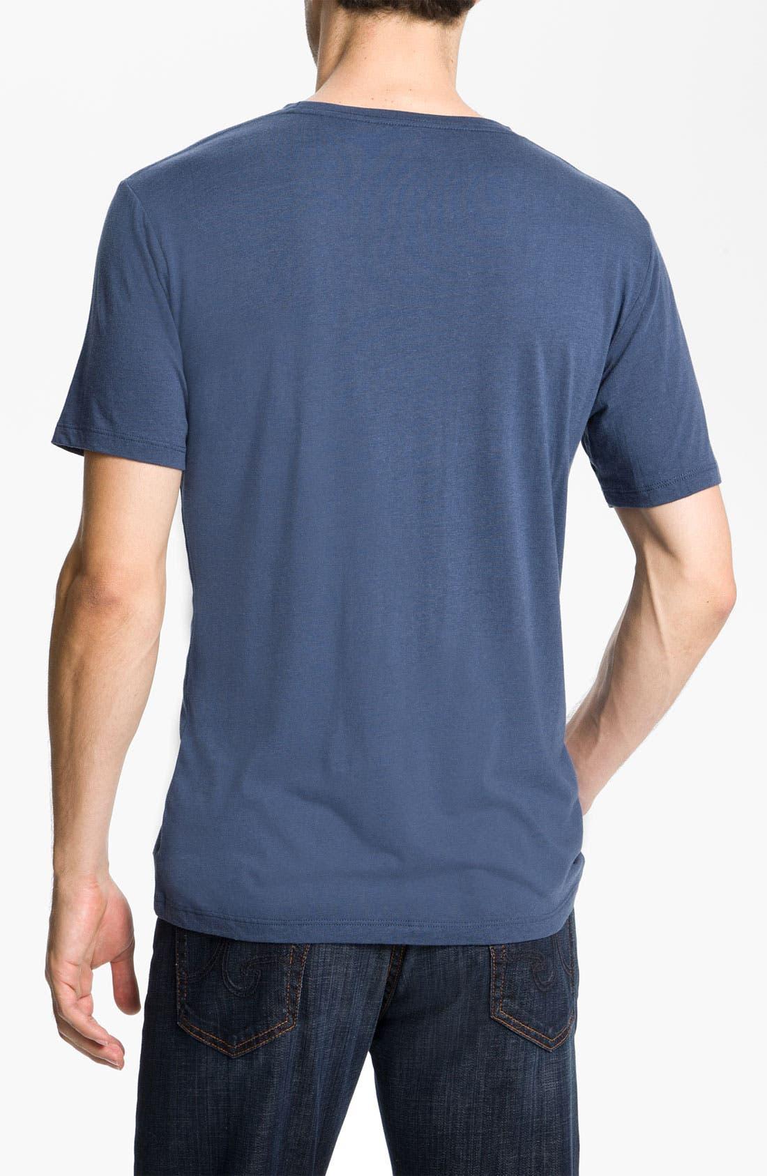 Alternate Image 2  - Alex Maine 'Premium' Crewneck T-Shirt