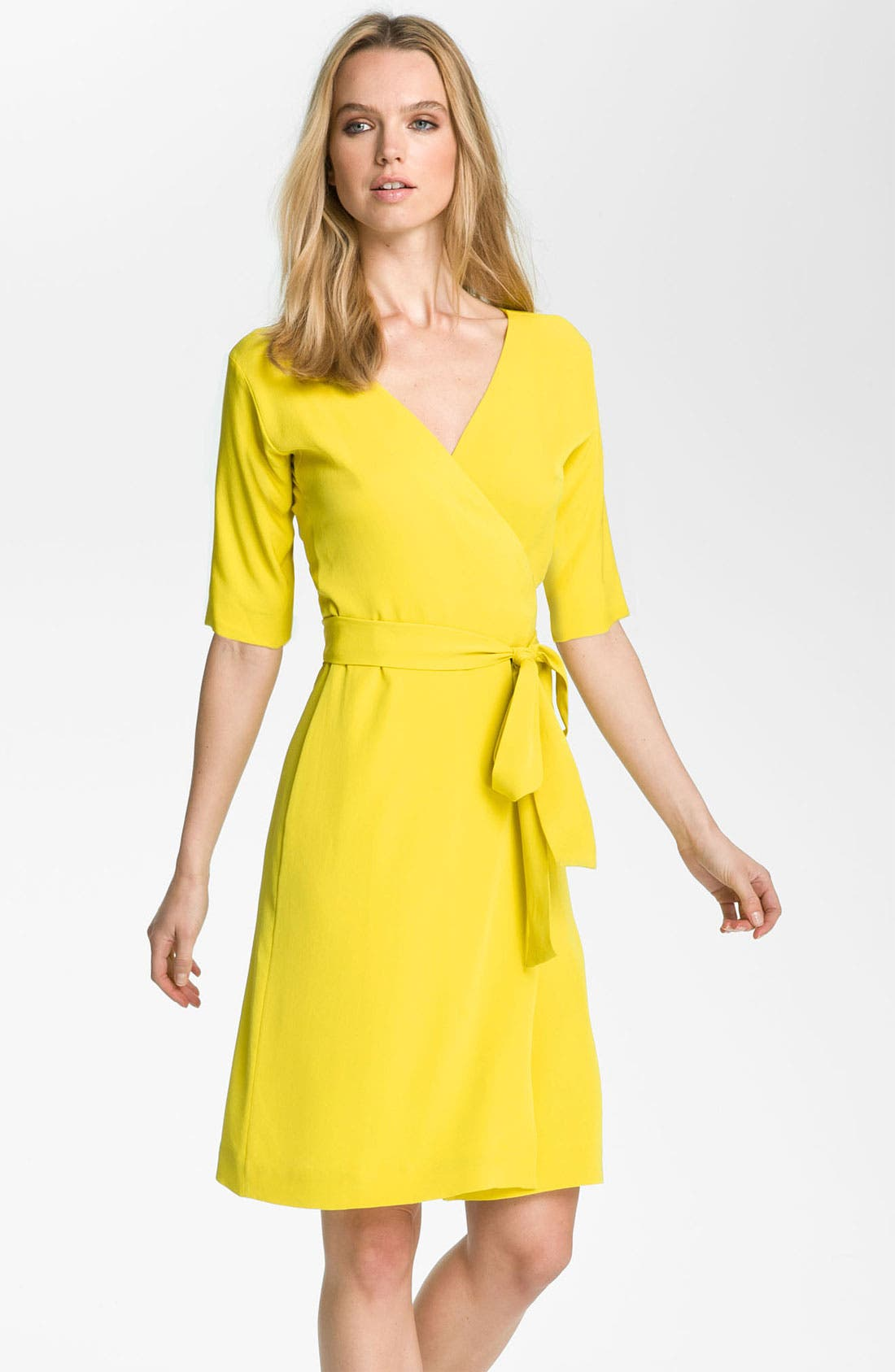 Alternate Image 2  - Diane von Furstenberg 'Shannon' Silk Wrap Dress