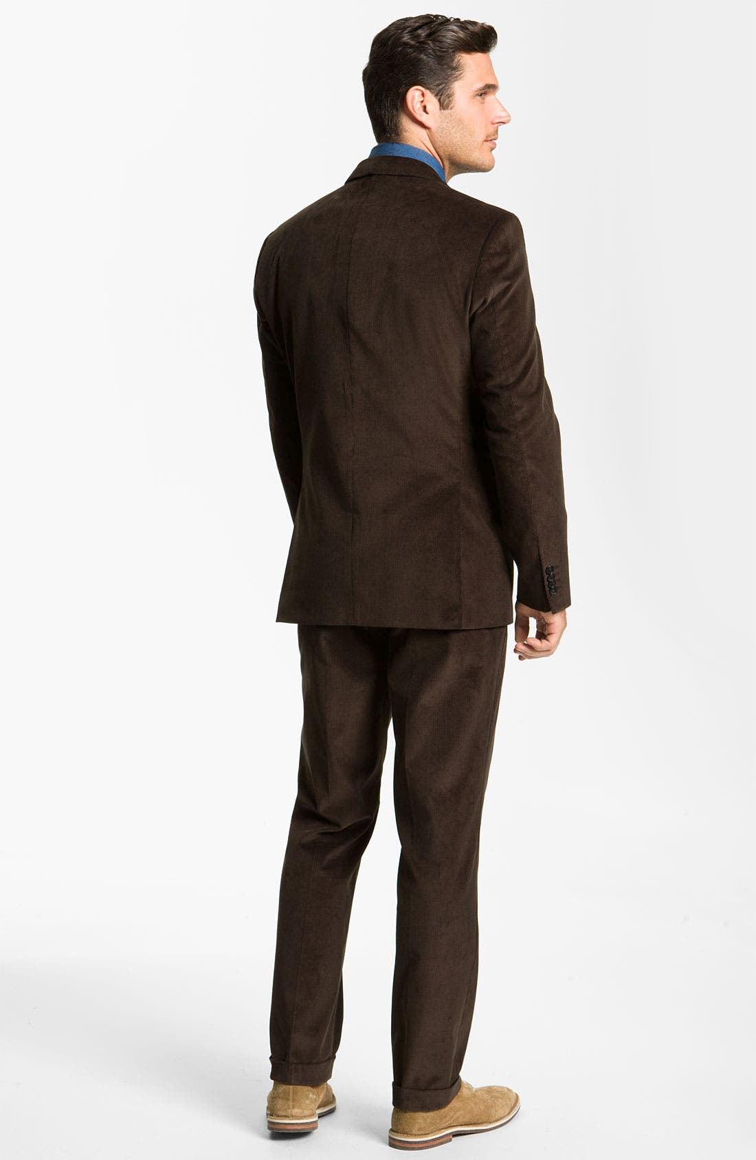 Alternate Image 3  - BOSS Black 'James/Sharp' Trim Fit Corduroy Suit