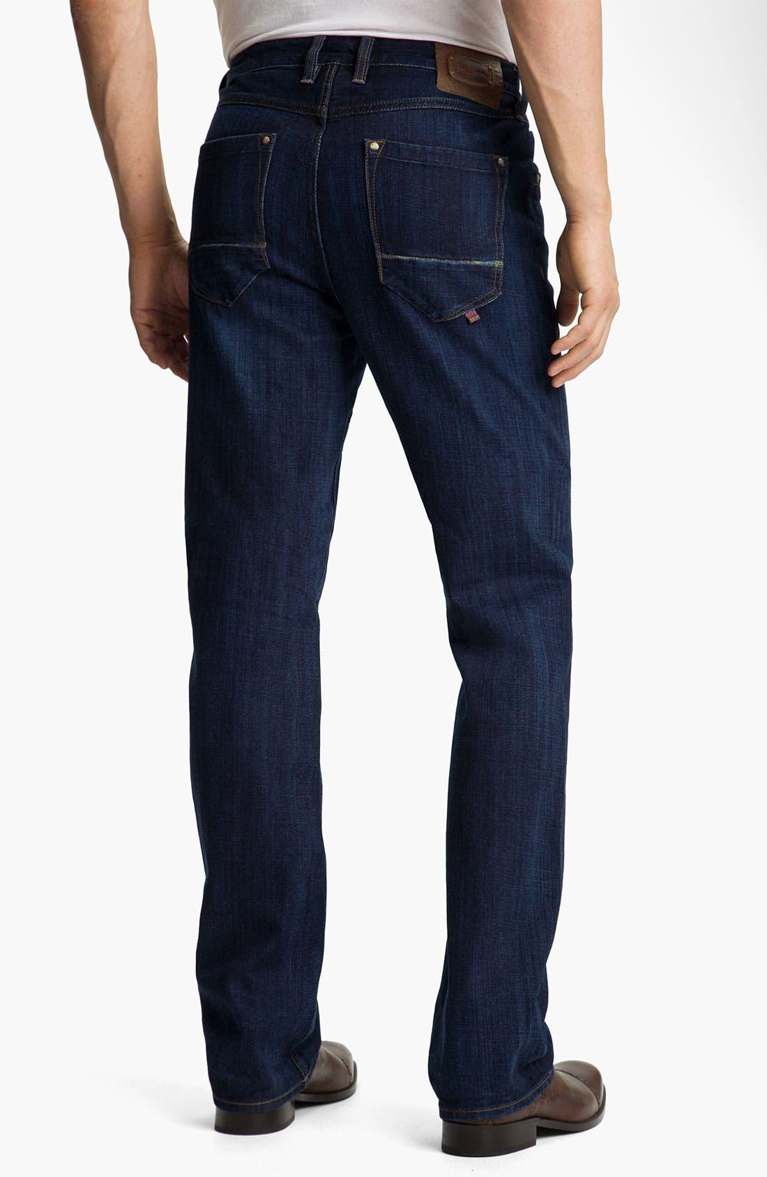 Alternate Image 2  - Robert Graham Jeans 'Simply Blue' Straight Leg Jeans (Indigo)