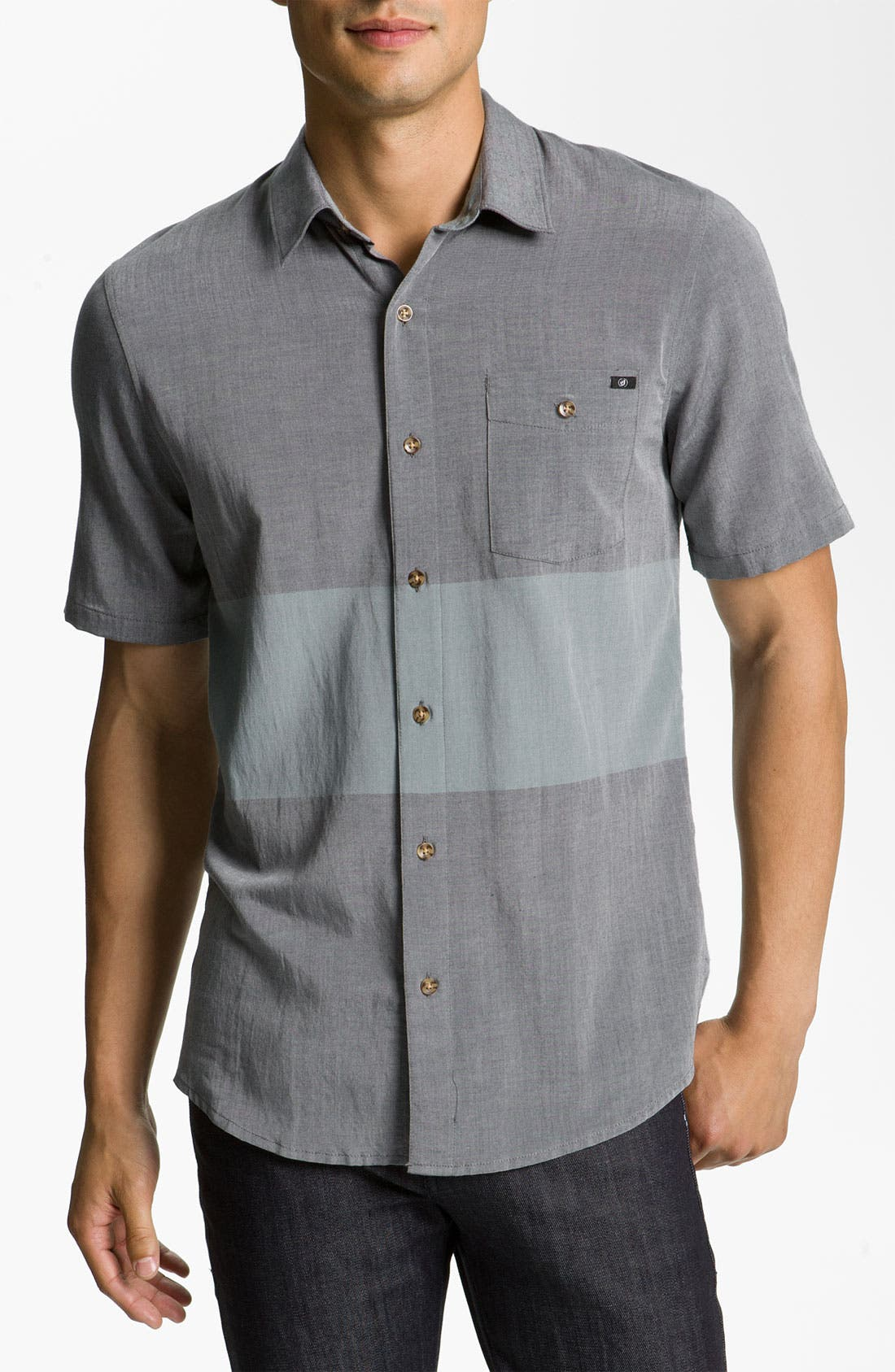 Alternate Image 1 Selected - Volcom 'Ashton' Rayon Shirt