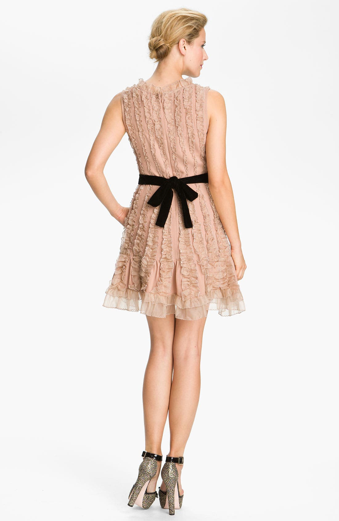 Alternate Image 2  - RED Valentino Lace Detail Dress