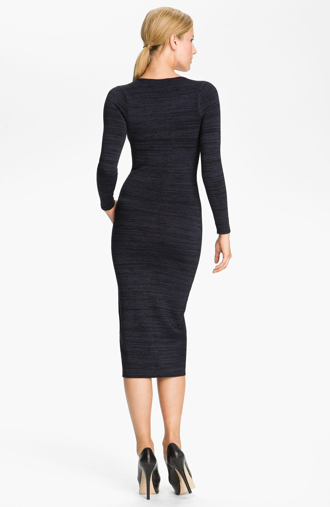 Alternate Image 2  - A.L.C. 'Ree' Square Neck Dress