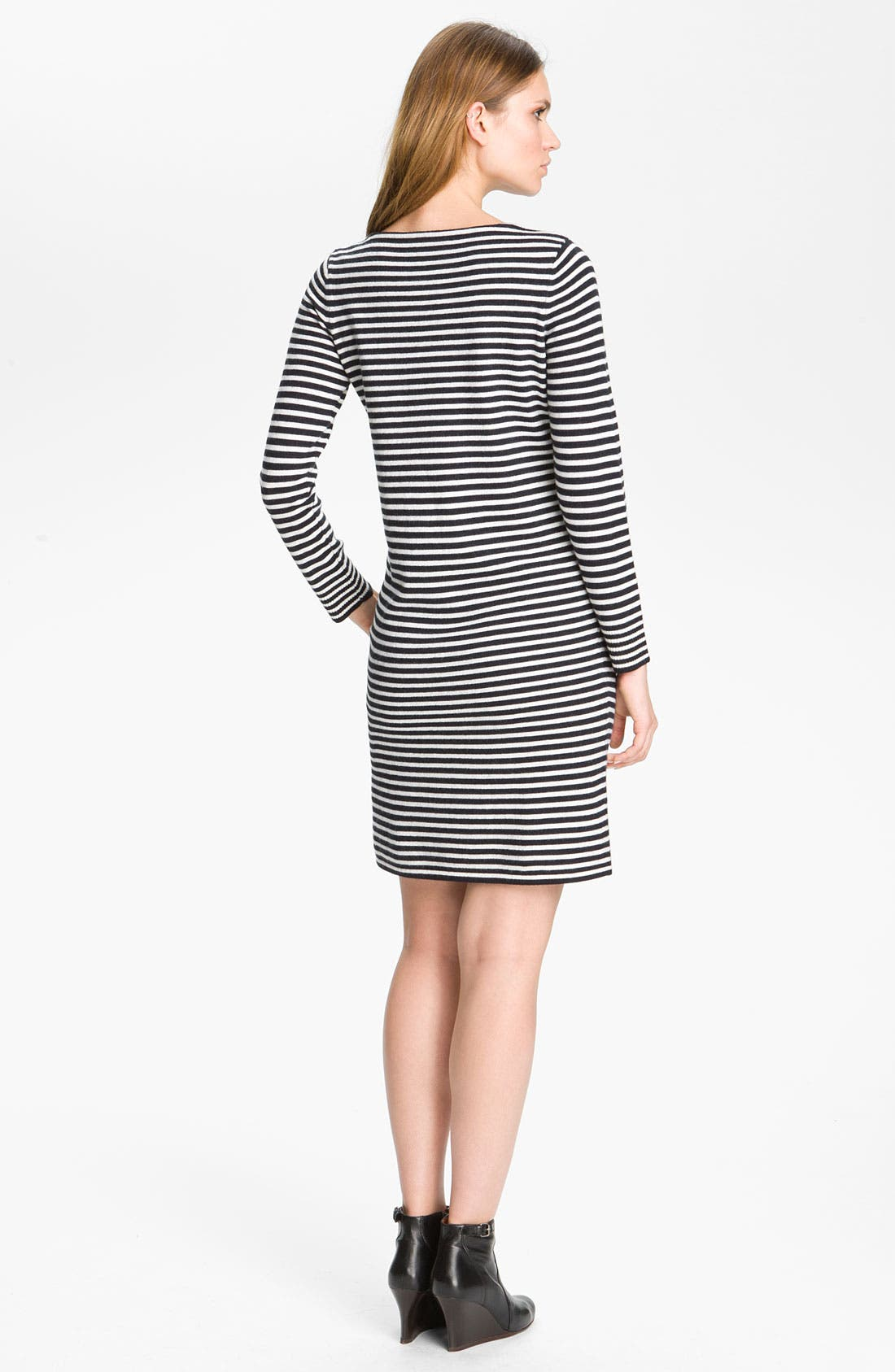 Alternate Image 2  - A.P.C. Stripe Knit Dress