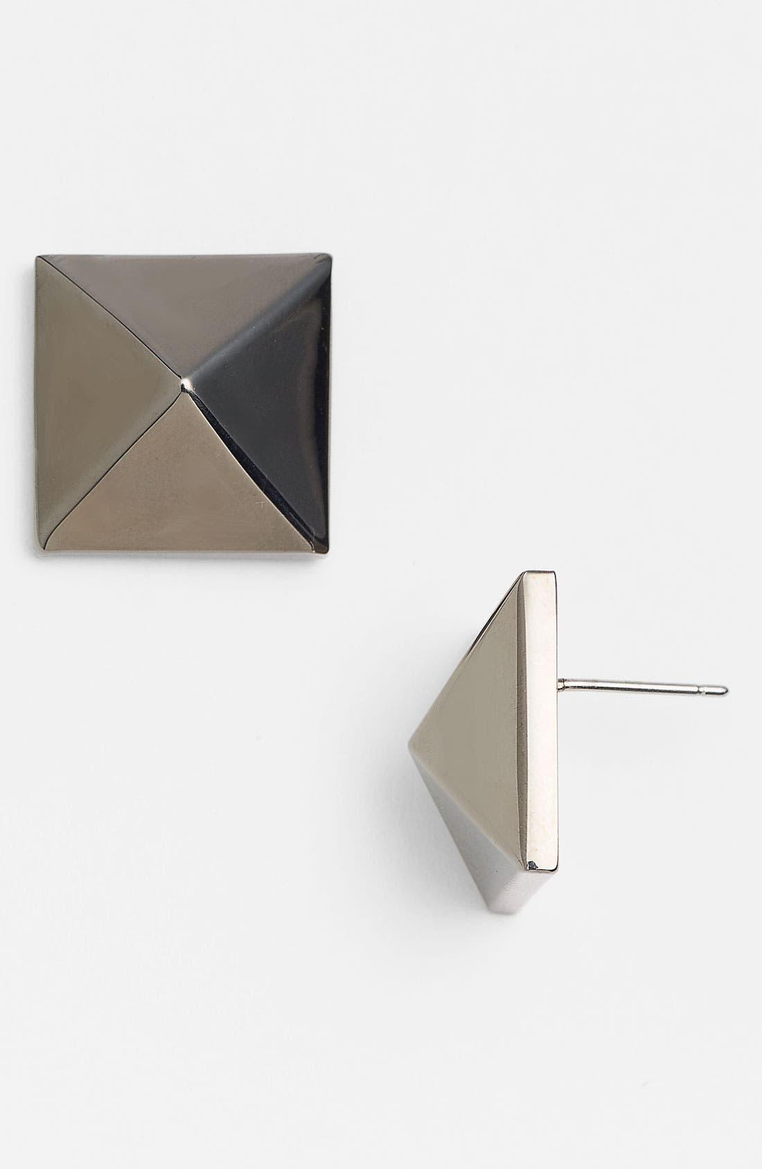 Main Image - Vince Camuto 'Basics' Medium Pyramid Stud Earrings