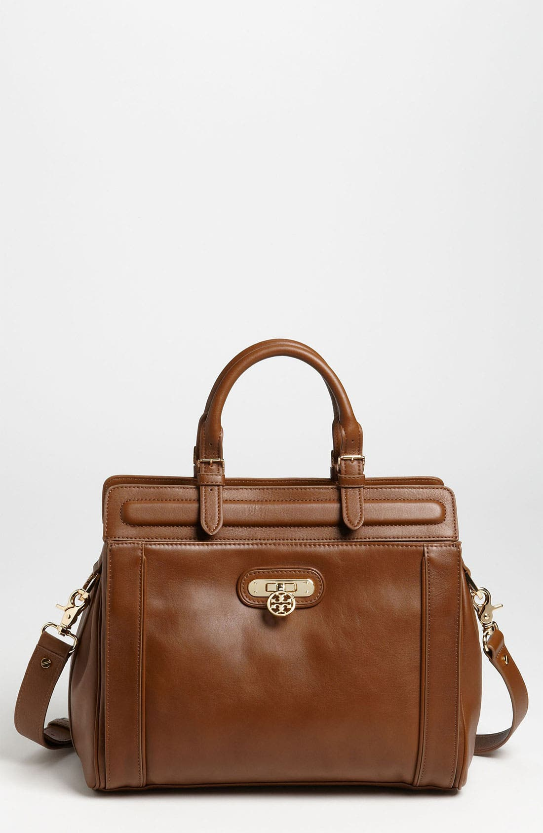 Alternate Image 1 Selected - Tory Burch 'Daria' Leather Satchel
