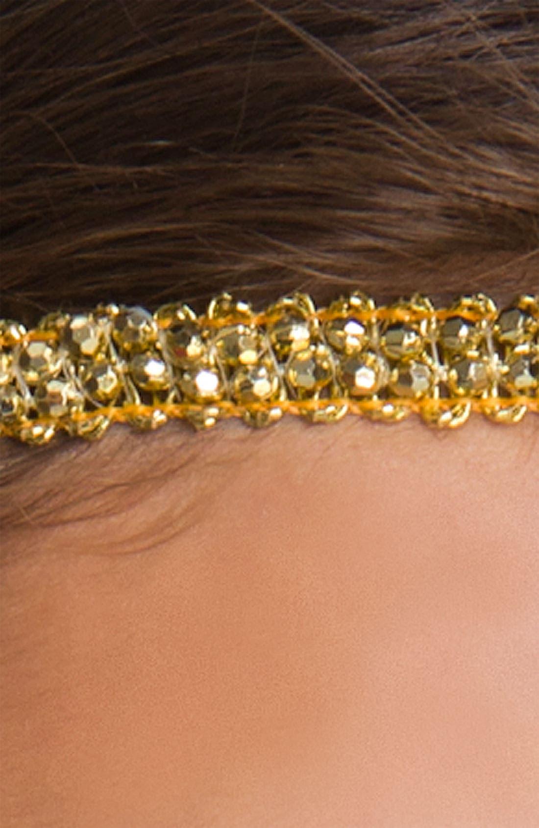 Alternate Image 2  - Lulu Rhinestone Headband